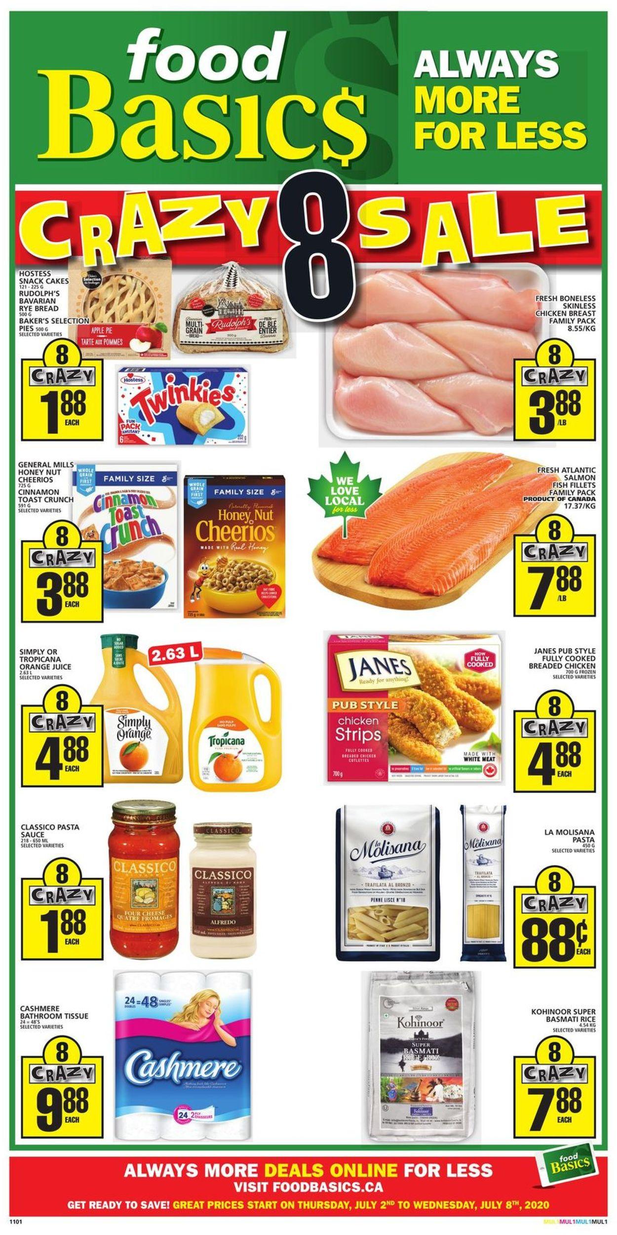 Food Basics Flyer - 07/02-07/08/2020