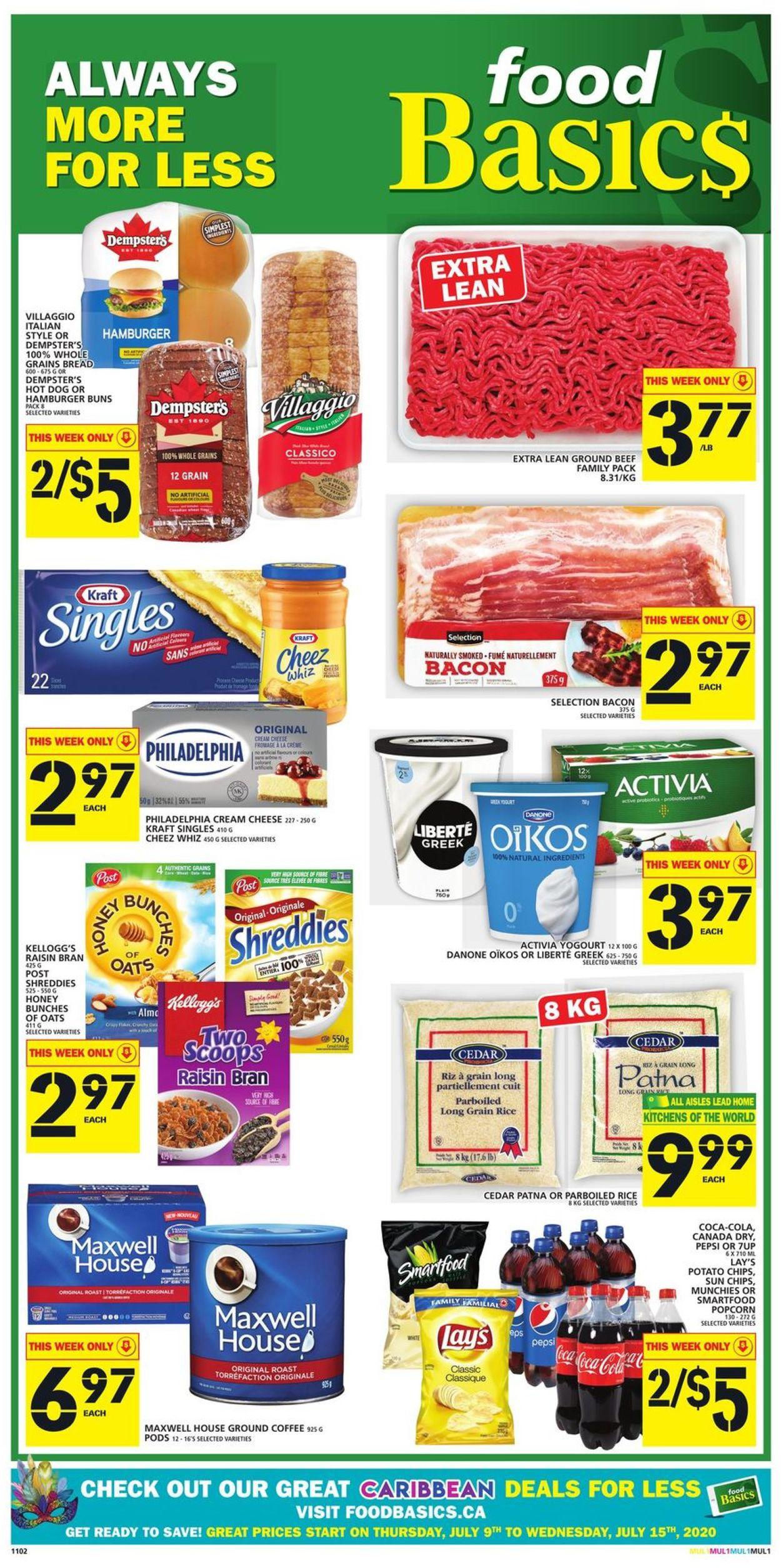 Food Basics Flyer - 07/09-07/15/2020