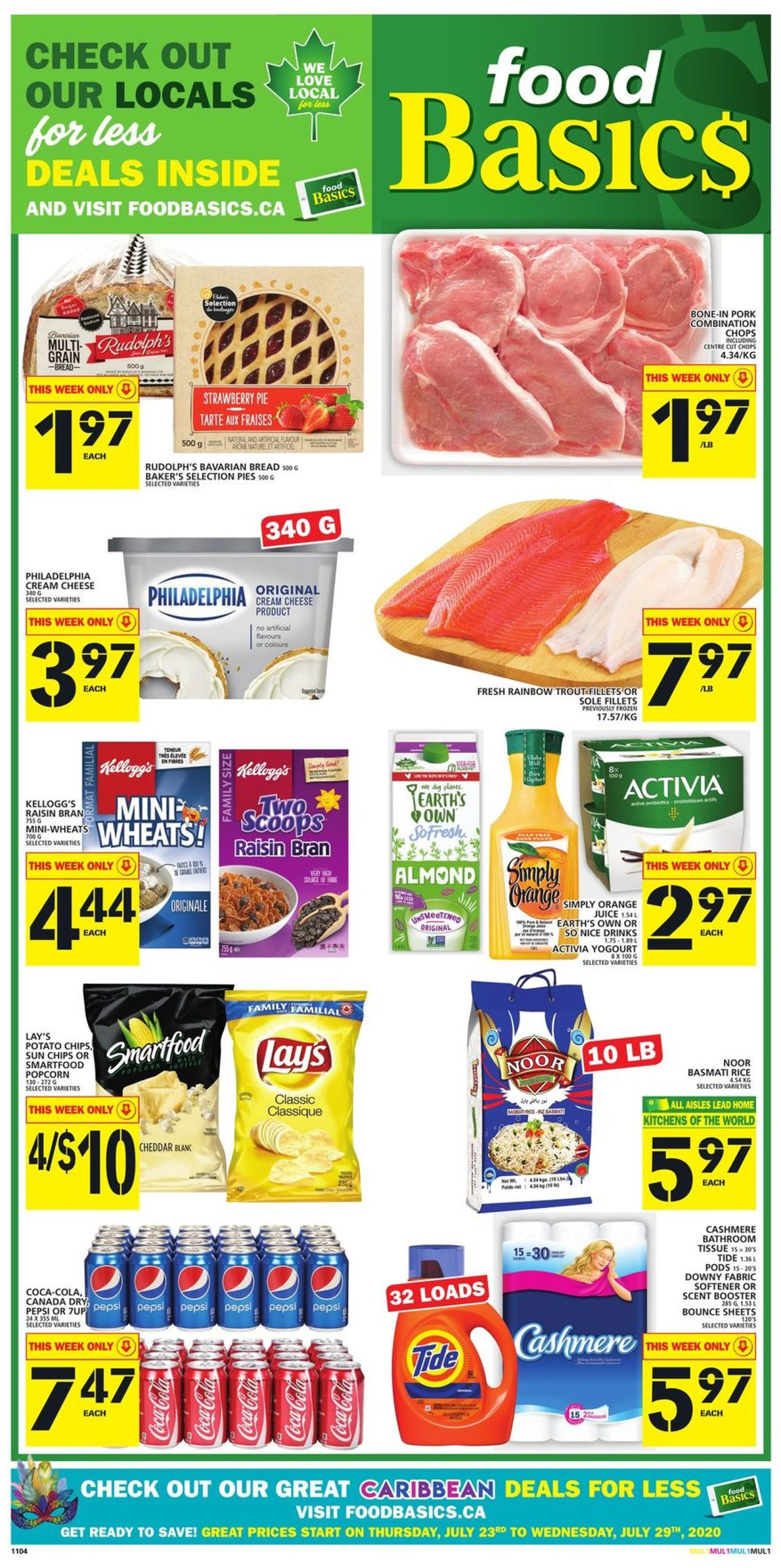 Food Basics Flyer - 07/23-07/29/2020