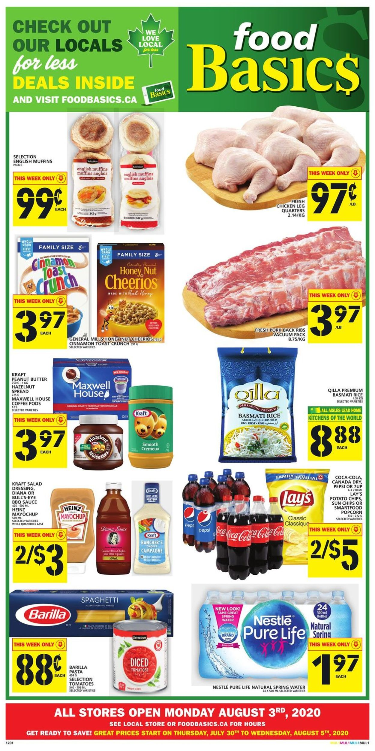 Food Basics Flyer - 07/30-08/05/2020