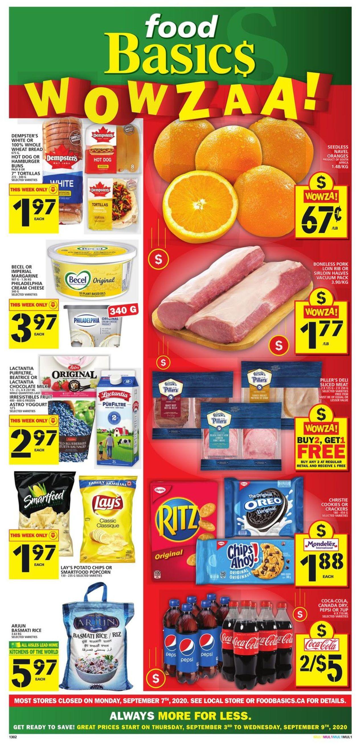 Food Basics Flyer - 09/03-09/09/2020