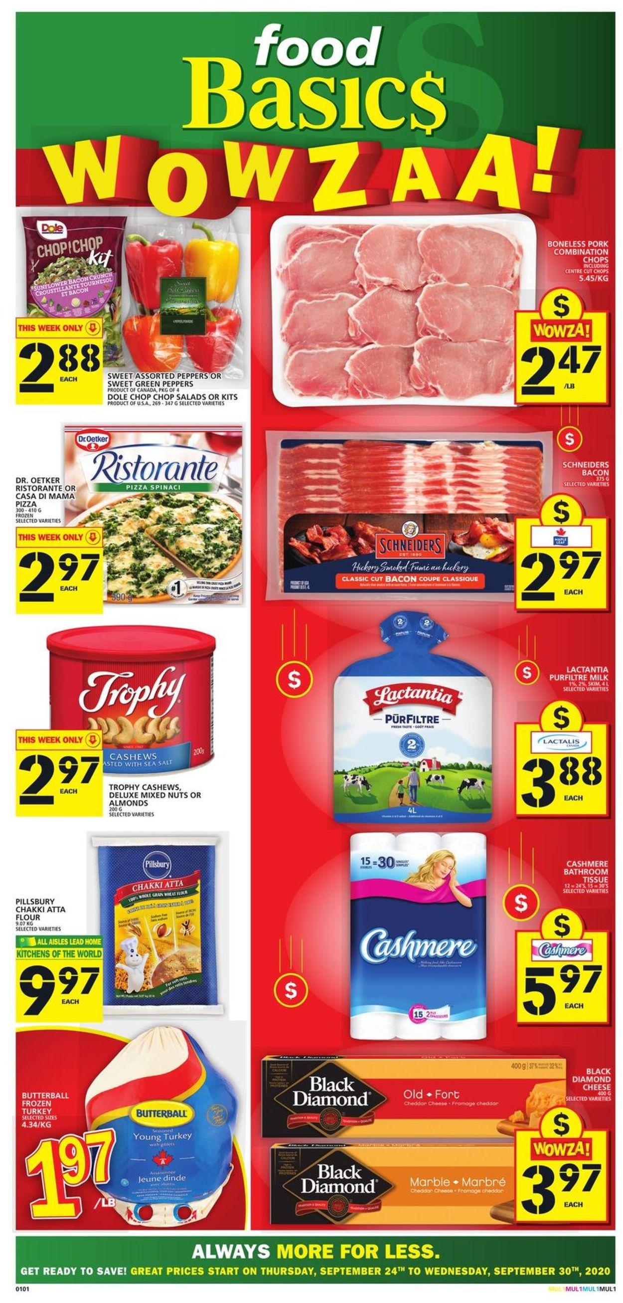 Food Basics Flyer - 09/24-09/30/2020