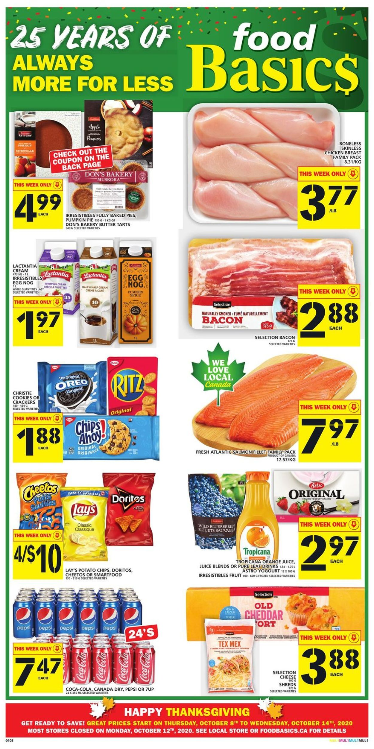 Food Basics Flyer - 10/08-10/14/2020