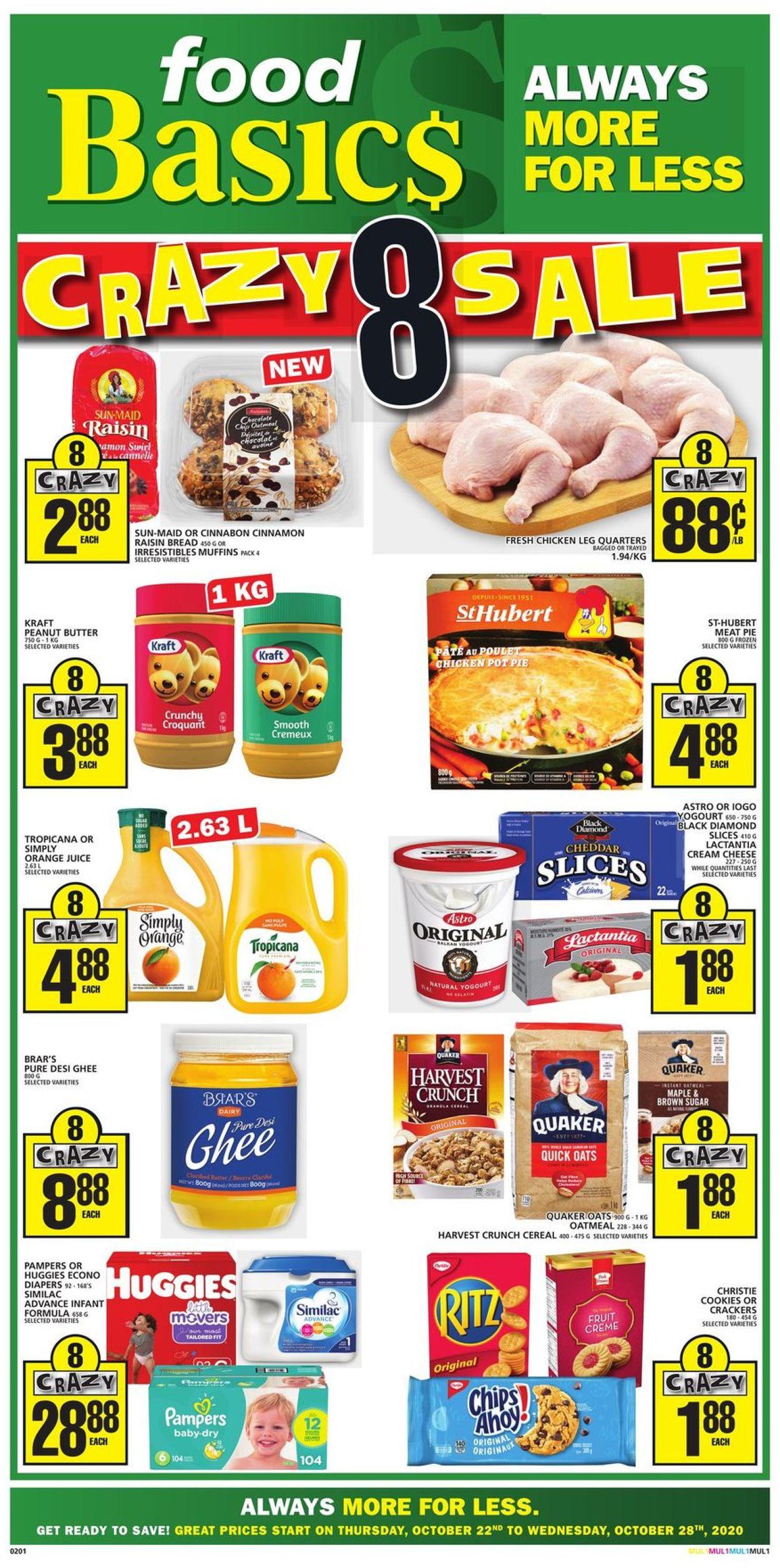 Food Basics Flyer - 10/22-10/28/2020