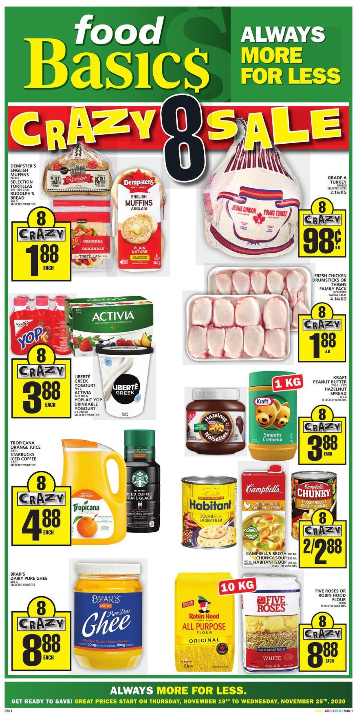 Food Basics Flyer - 11/19-11/25/2020