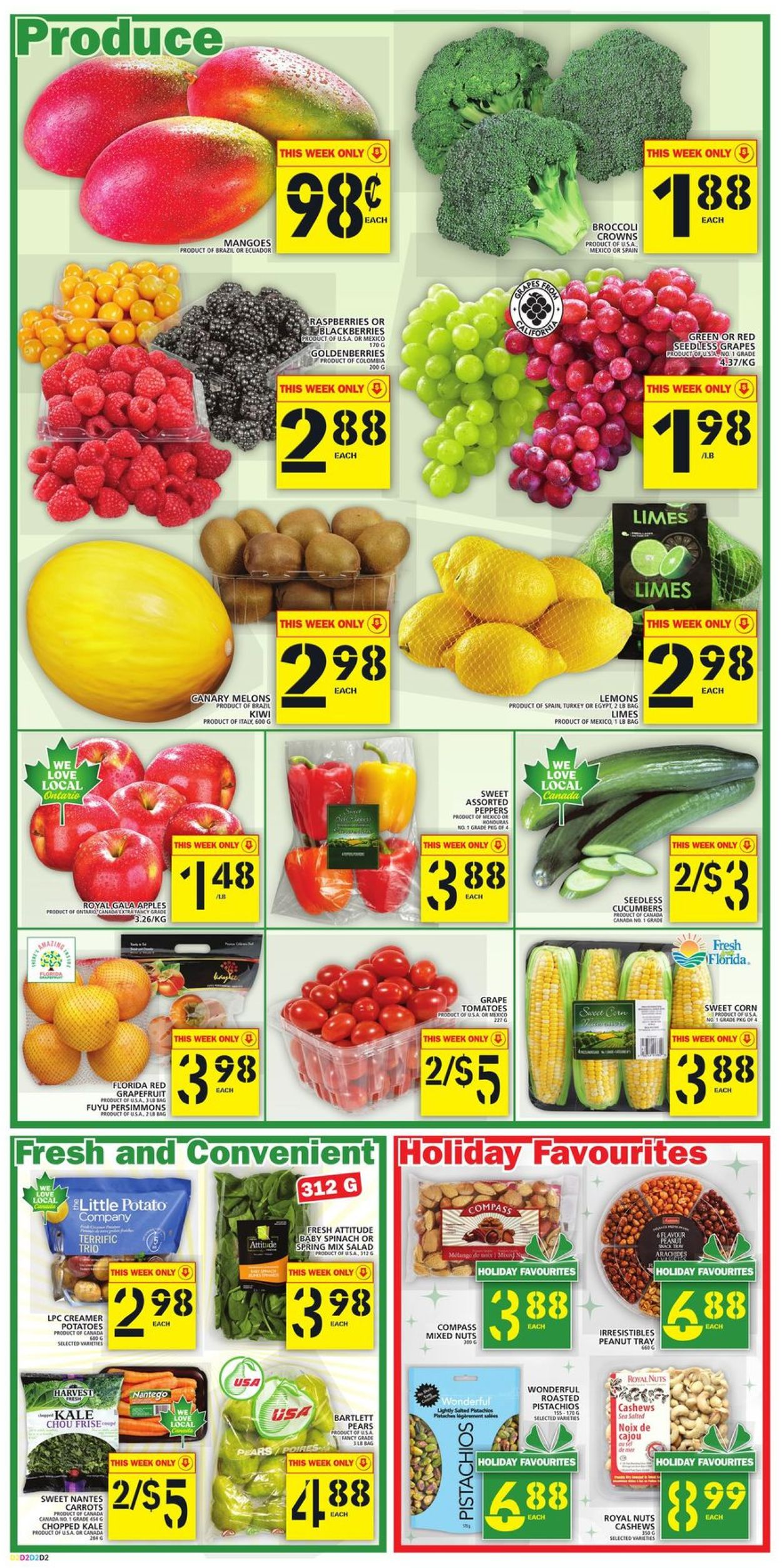 Food Basics - Black Friday 2020 Flyer - 11/26-12/02/2020 (Page 3)