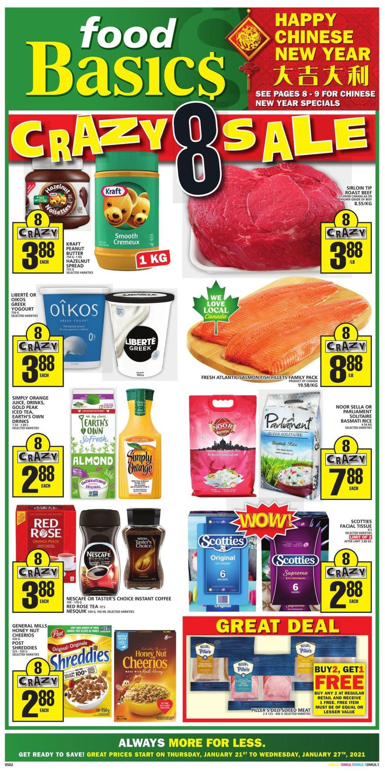 Food Basics Flyer - 01/21-01/27/2021