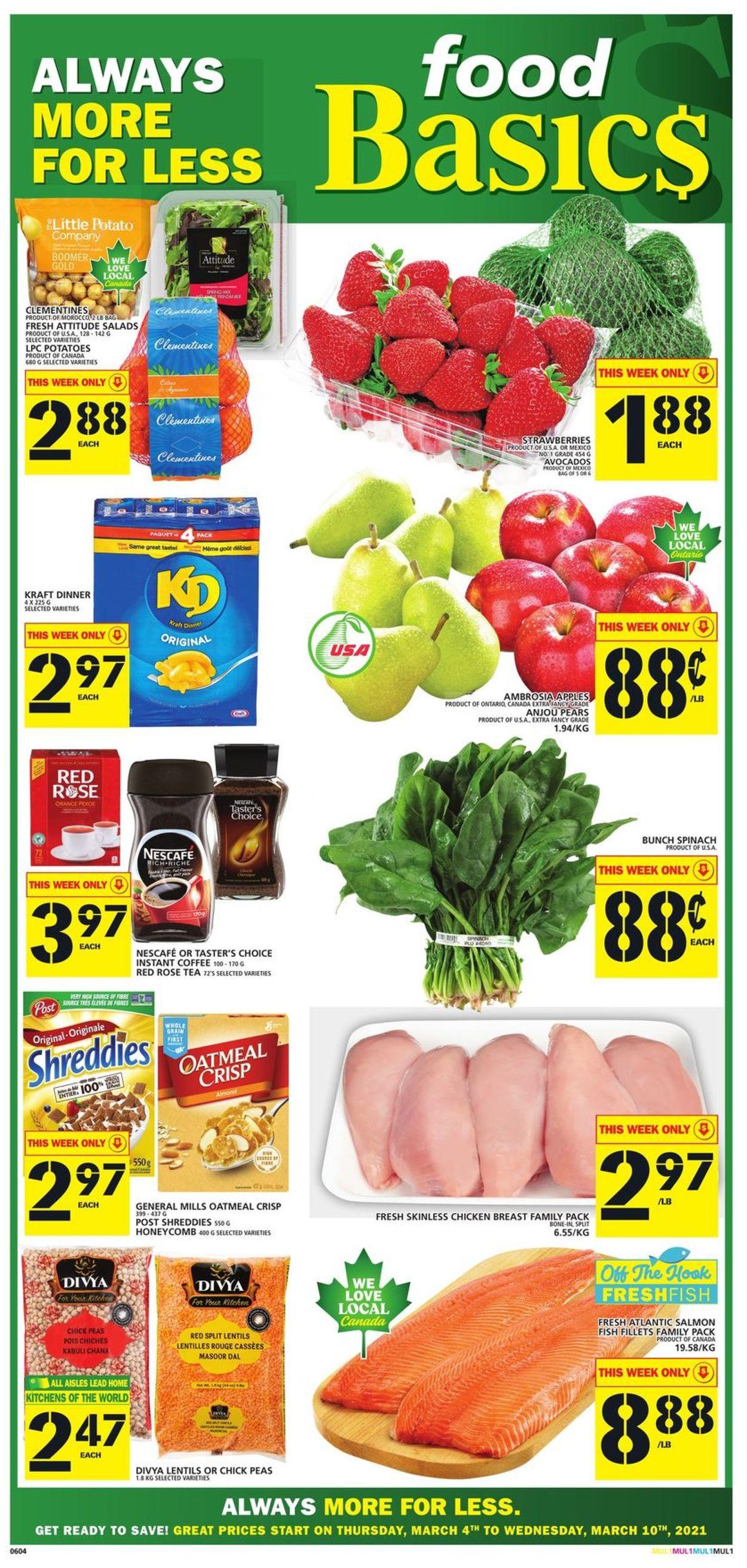 Food Basics Flyer - 03/04-03/10/2021