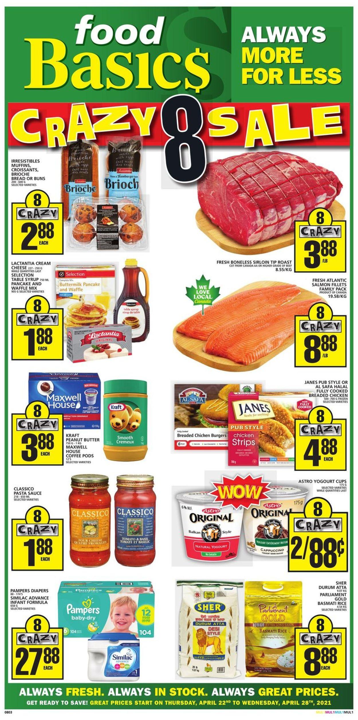 Food Basics Flyer - 04/22-04/28/2021