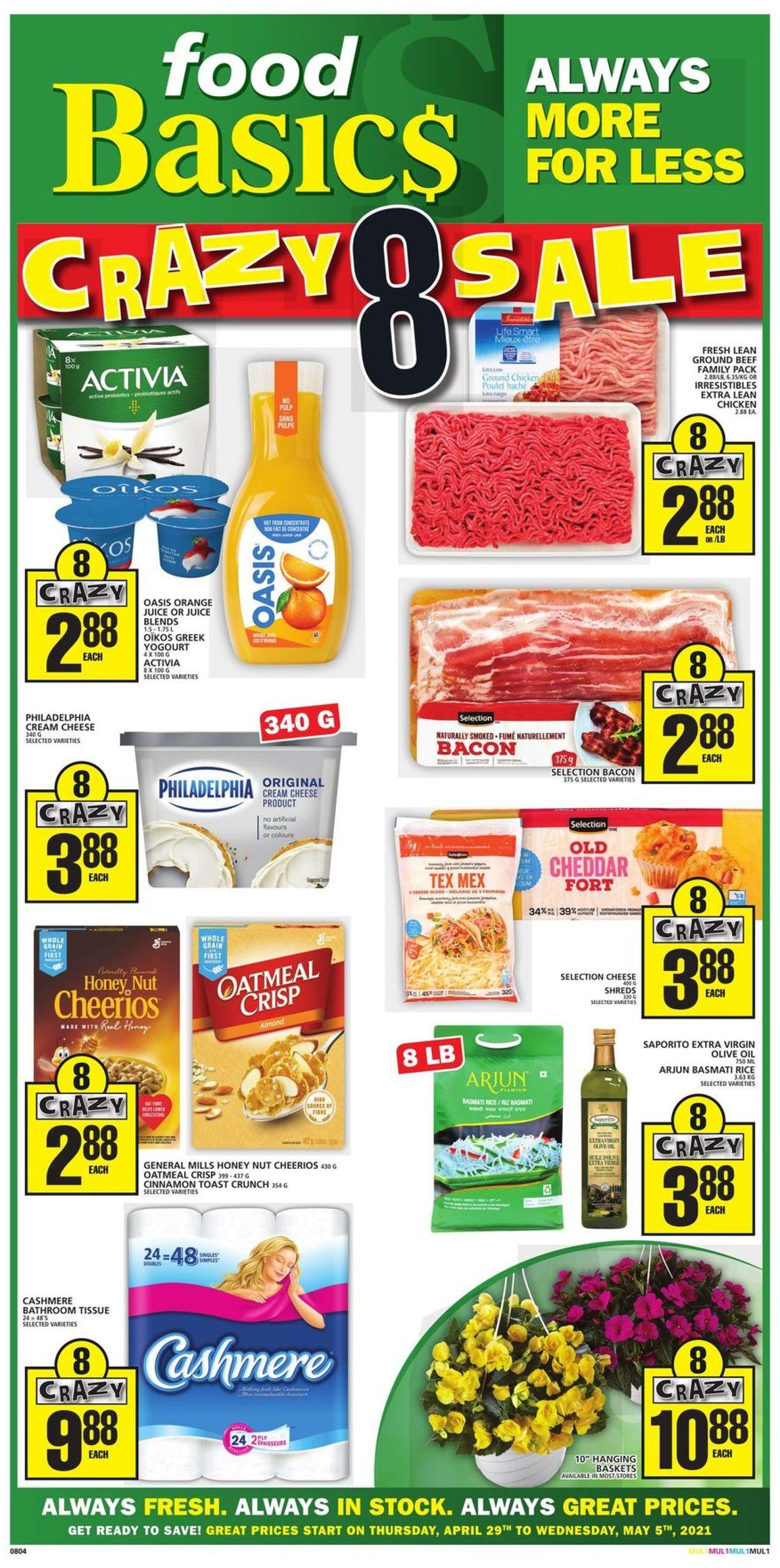 Food Basics Flyer - 04/29-05/05/2021