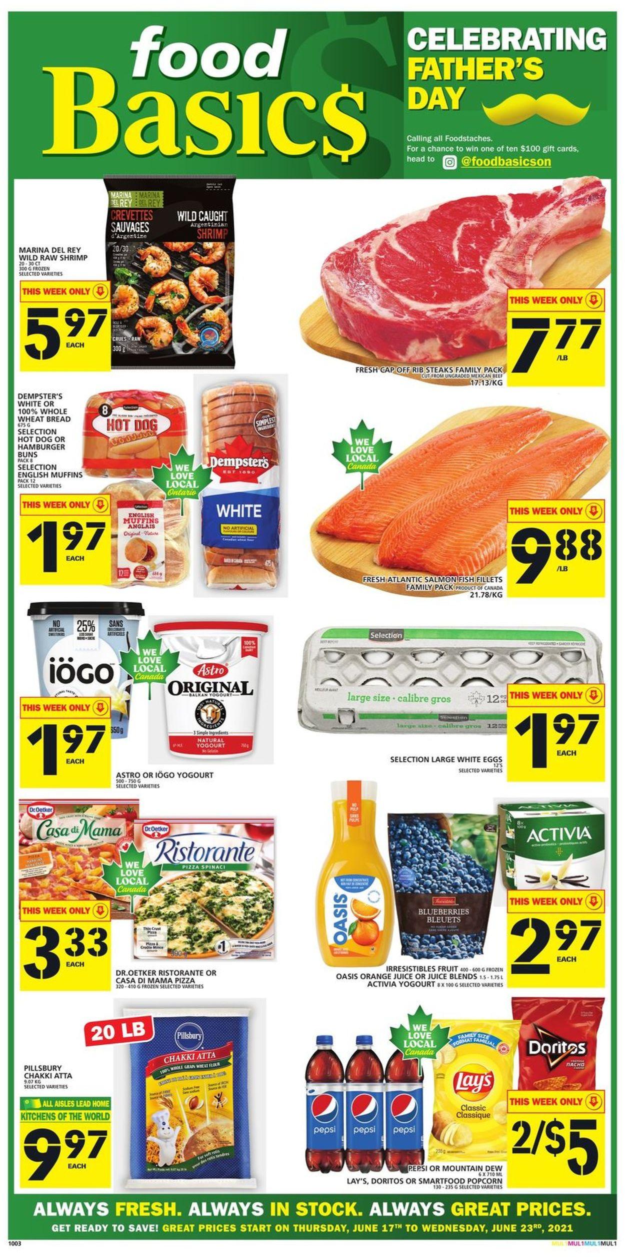 Food Basics Flyer - 06/17-06/23/2021