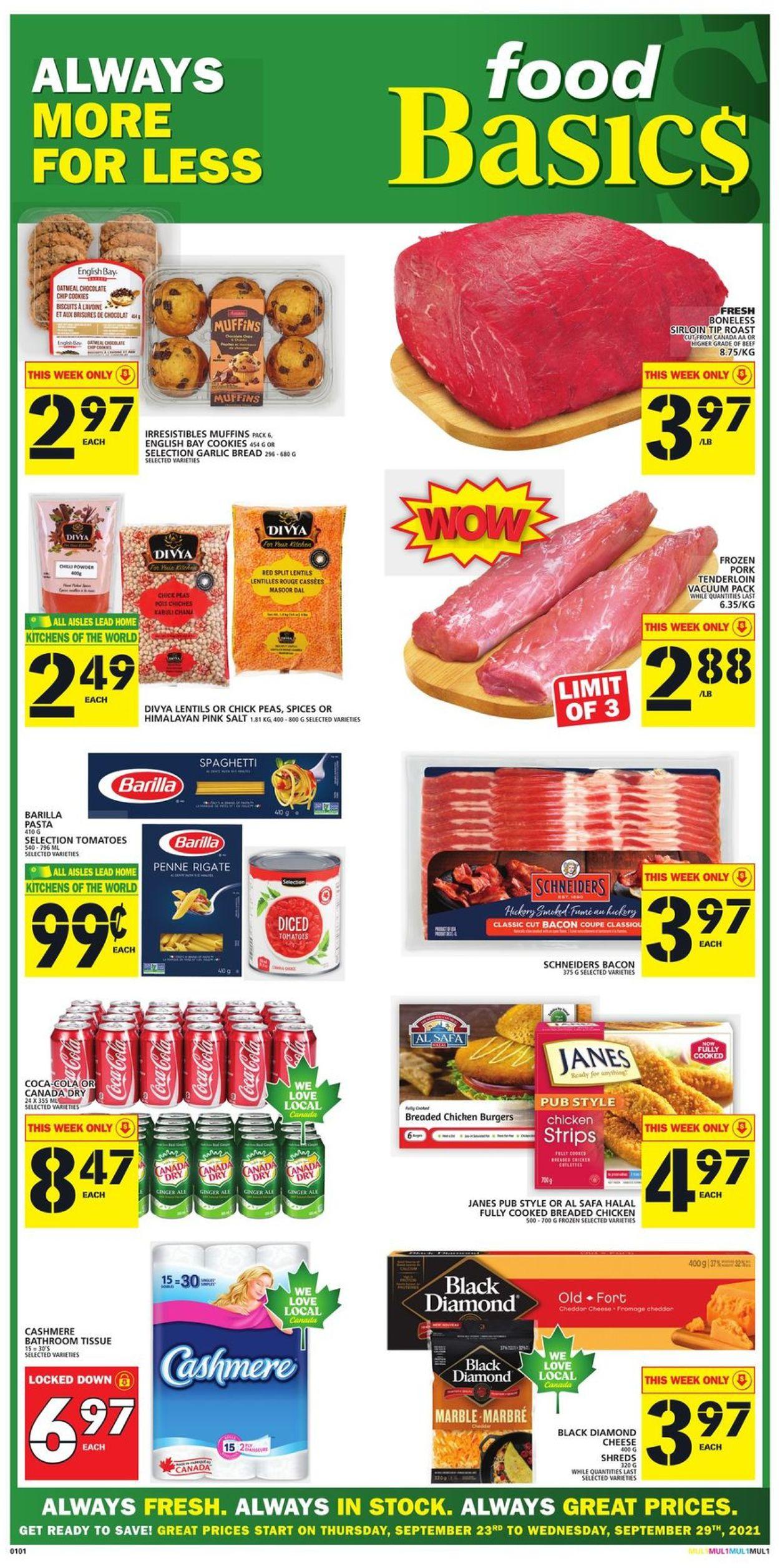 Food Basics Flyer - 09/23-09/29/2021