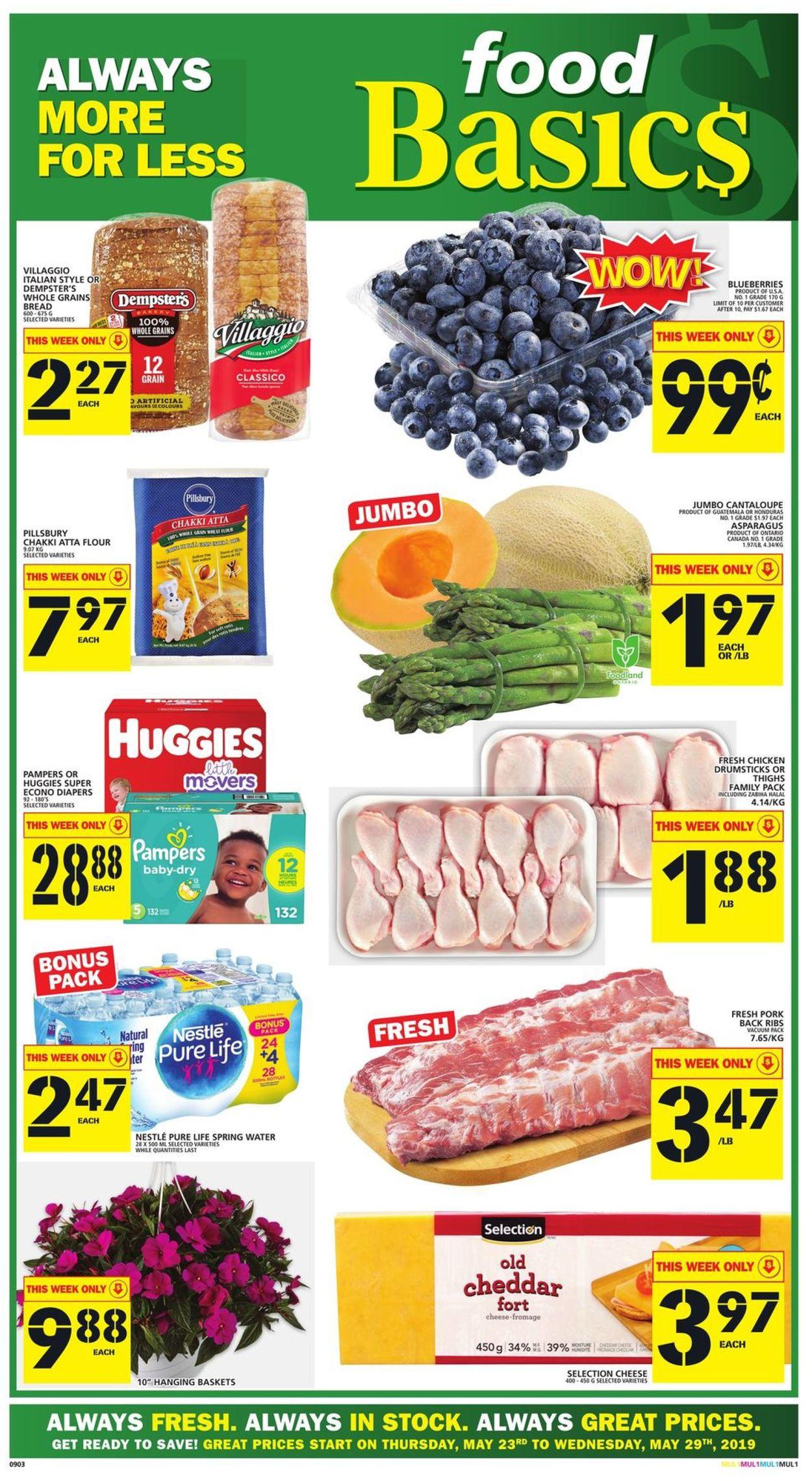 Food Basics Flyer - 05/23-05/29/2019