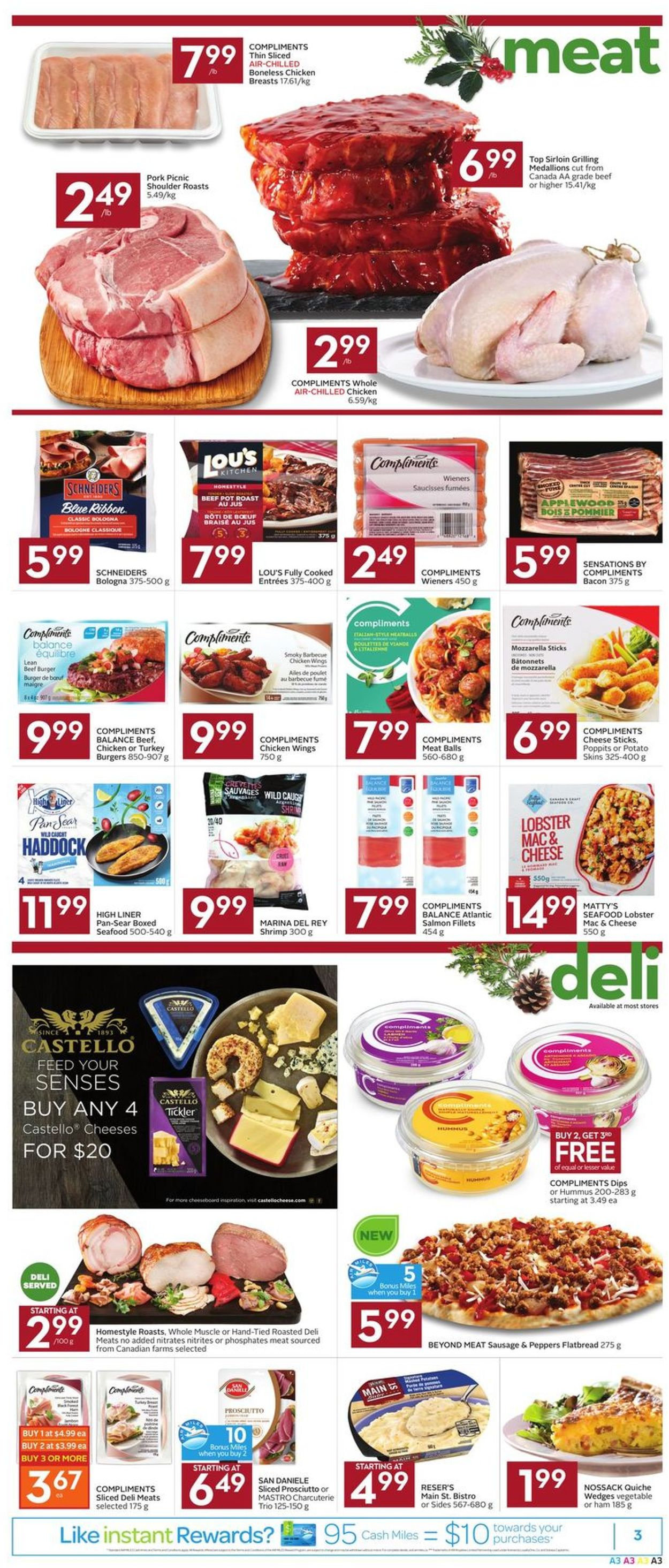 Foodland - HOLIDAY 2019 Flyer Flyer - 12/05-12/11/2019 (Page 3)