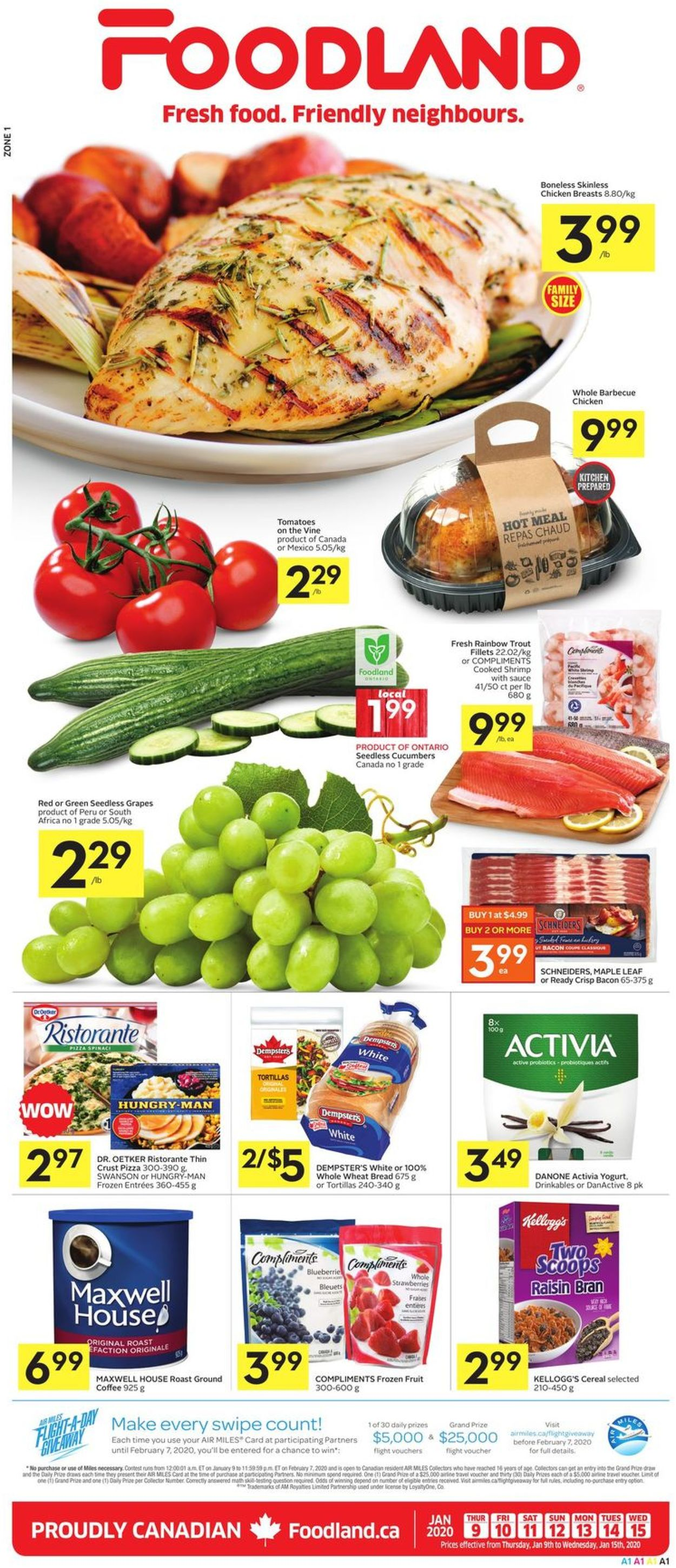Foodland Flyer - 01/09-01/15/2020
