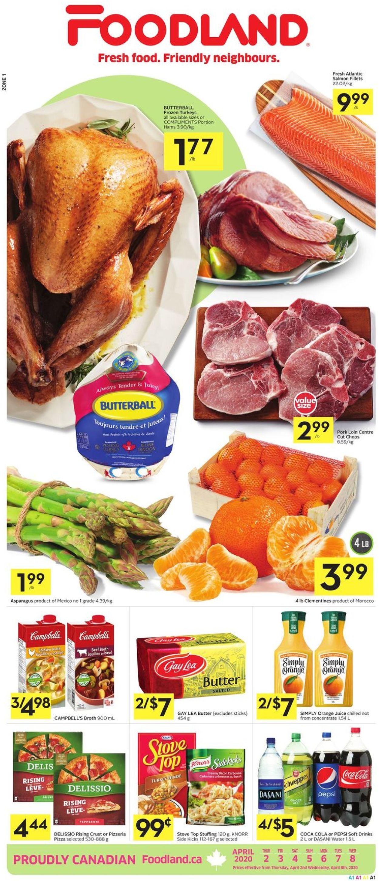 Foodland Flyer - 04/02-04/08/2020