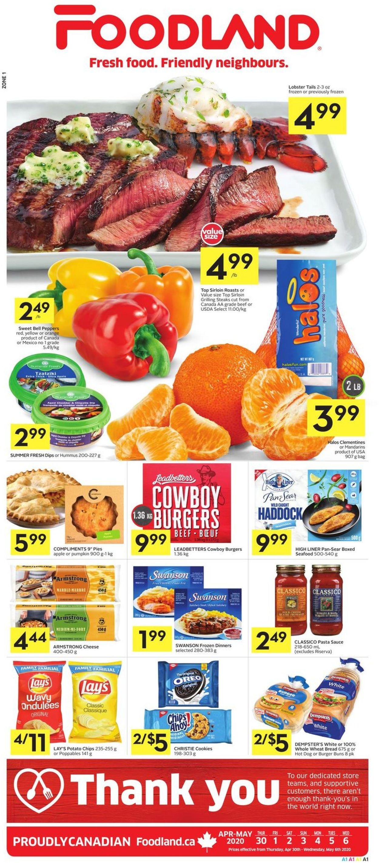 Foodland Flyer - 04/30-05/06/2020