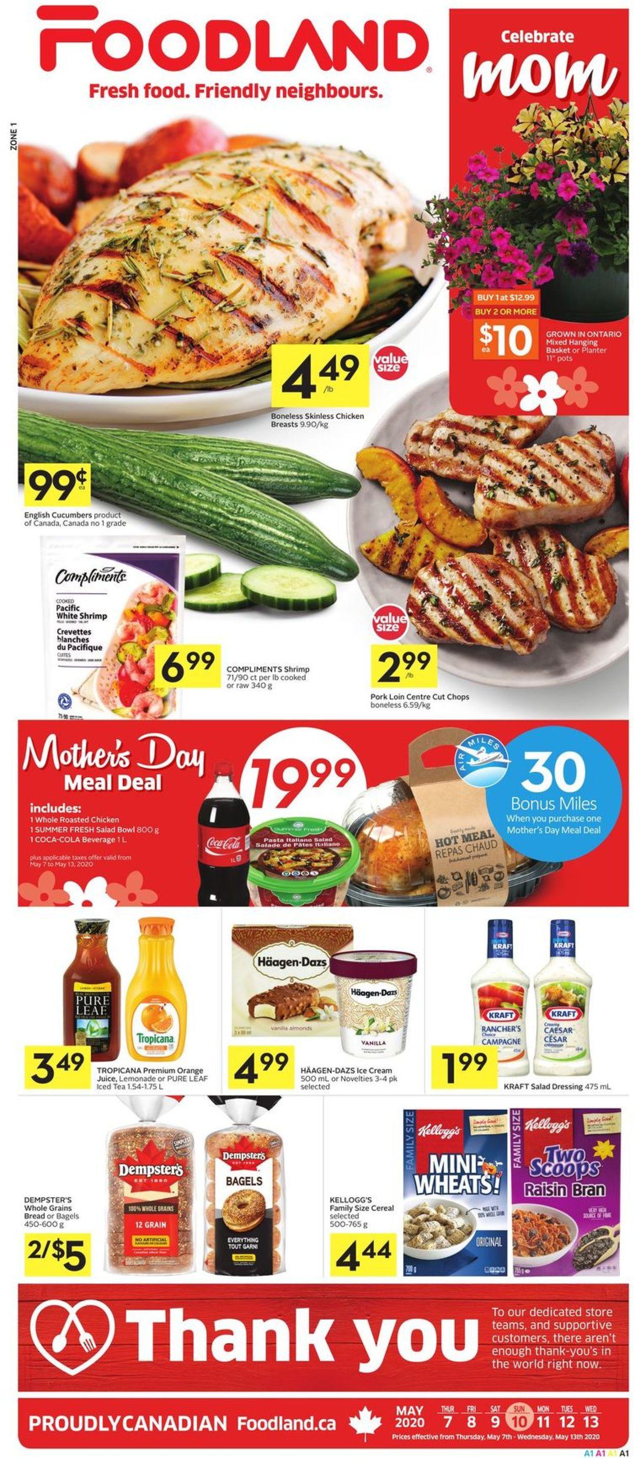 Foodland Flyer - 05/07-05/13/2020