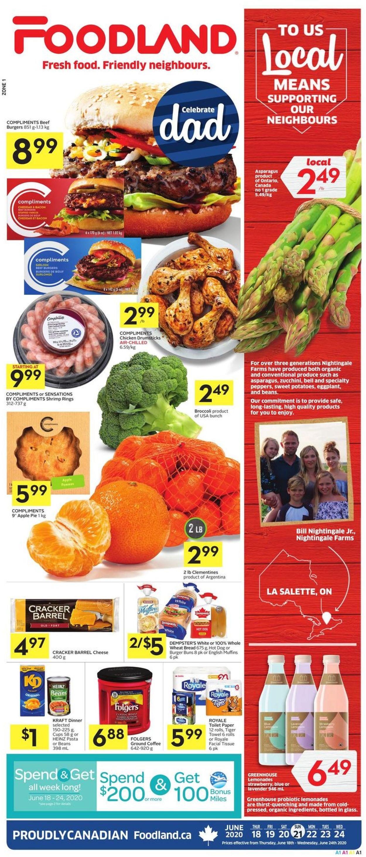Foodland Flyer - 06/18-06/24/2020