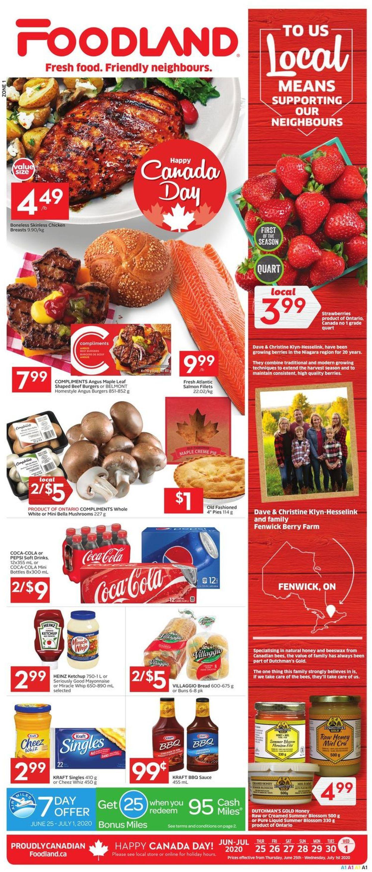 Foodland Flyer - 06/25-07/01/2020