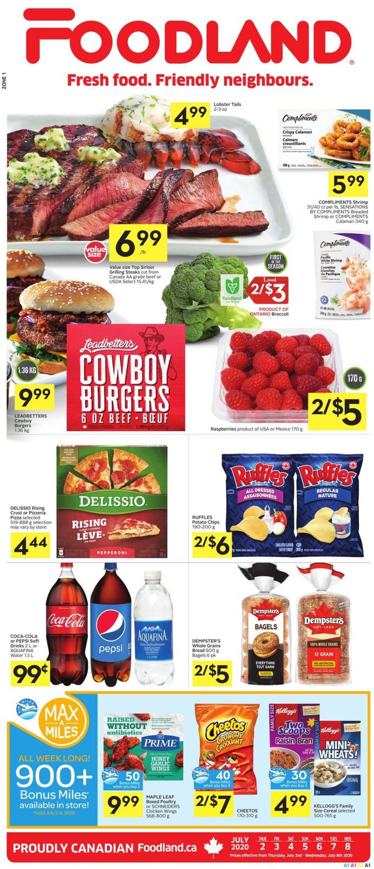 Foodland Flyer - 07/02-07/08/2020