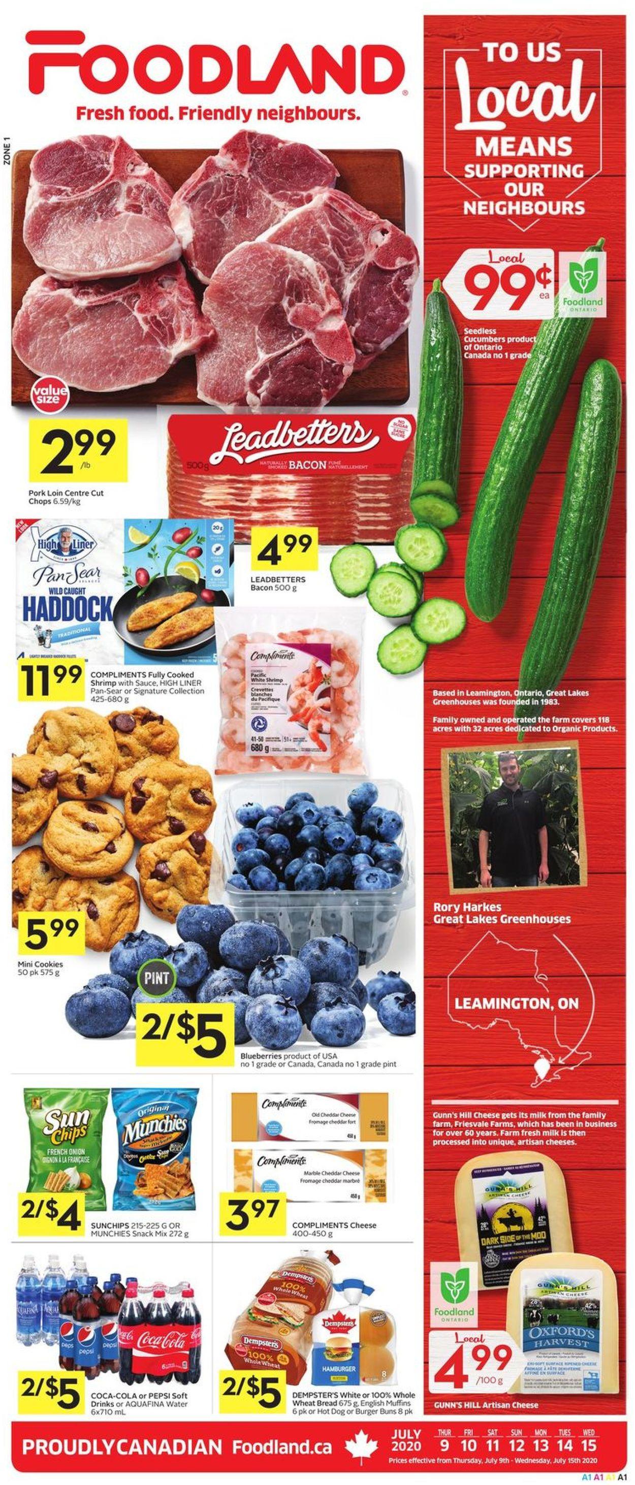 Foodland Flyer - 07/09-07/15/2020