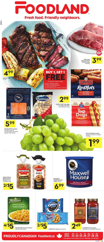 Foodland Flyer - 07/23-07/29/2020
