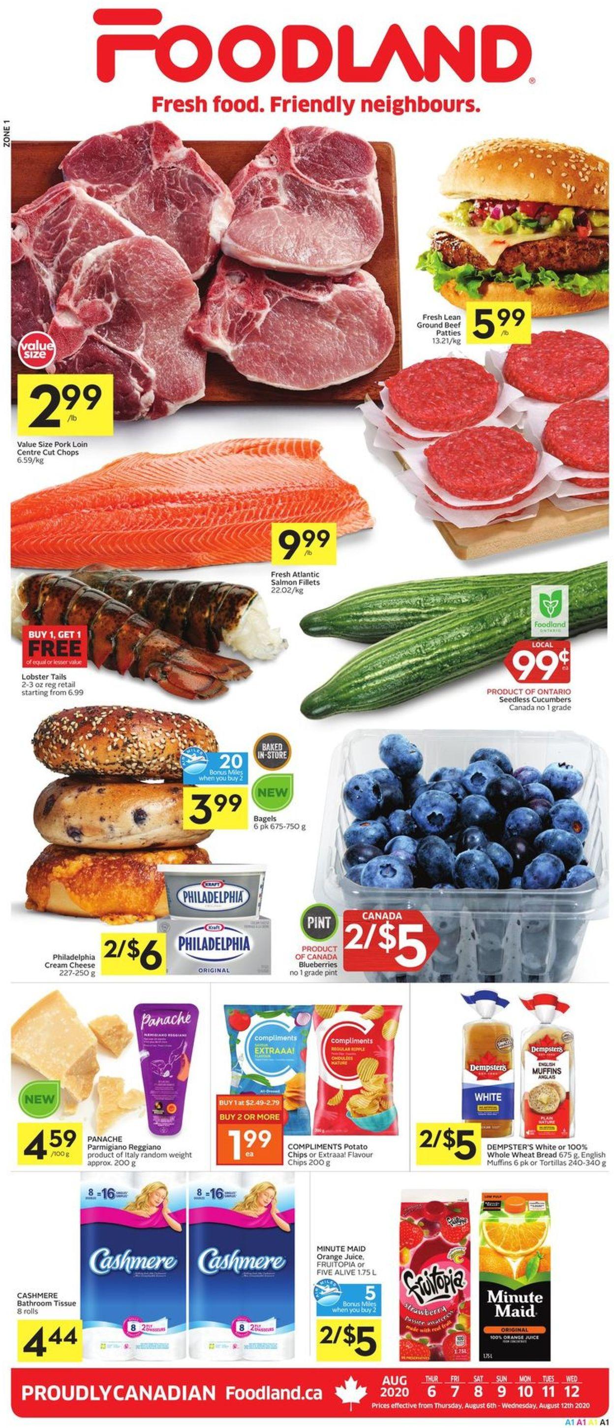 Foodland Flyer - 08/06-08/12/2020
