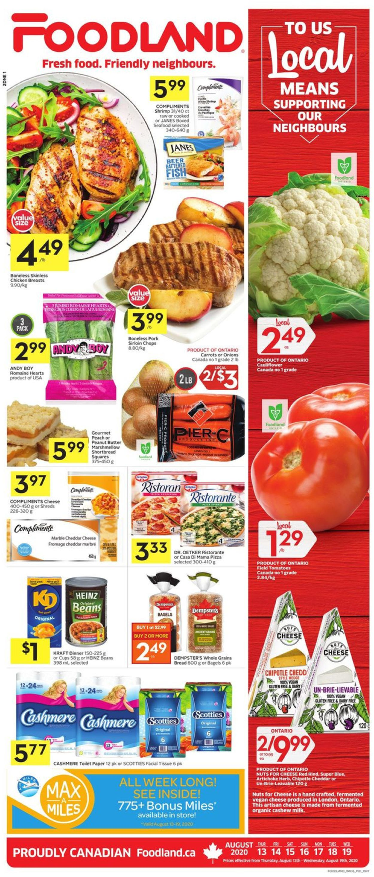 Foodland Flyer - 08/13-08/19/2020