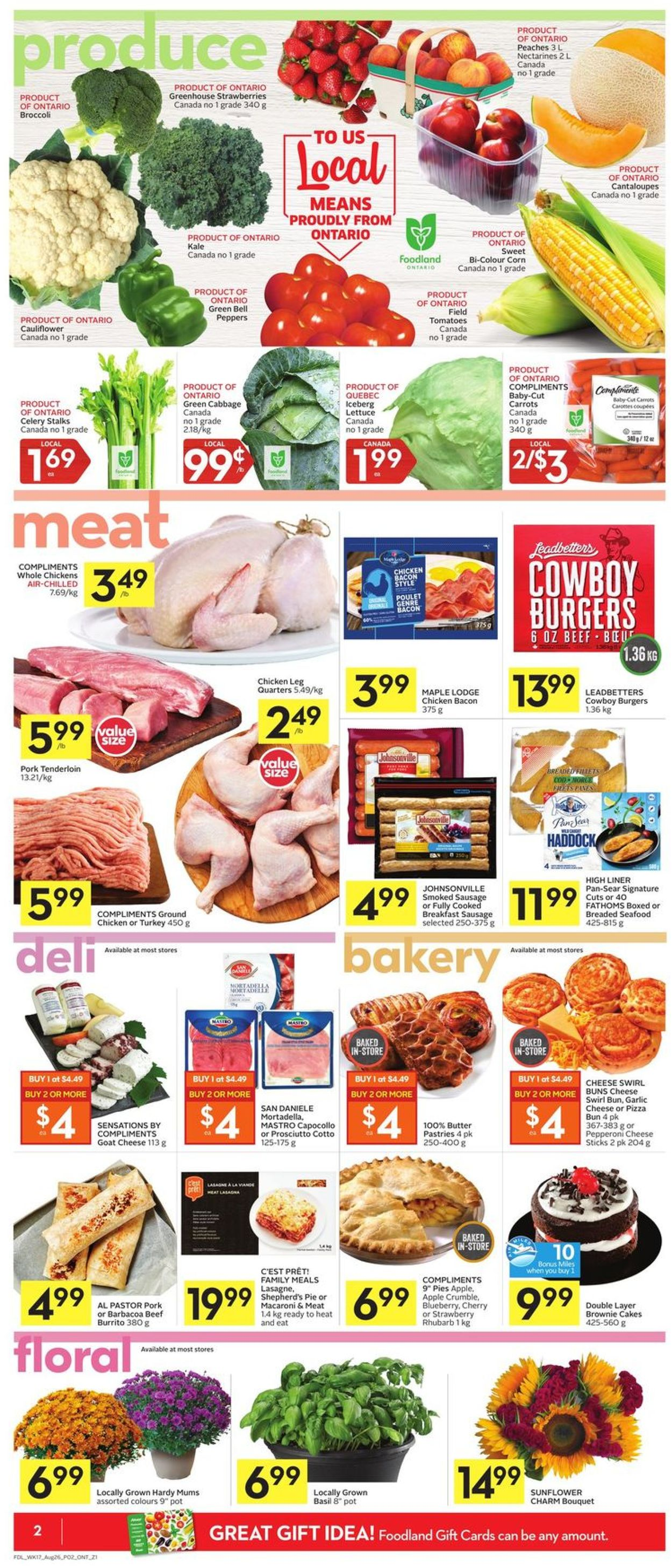 Foodland Flyer - 08/20-08/26/2020 (Page 2)