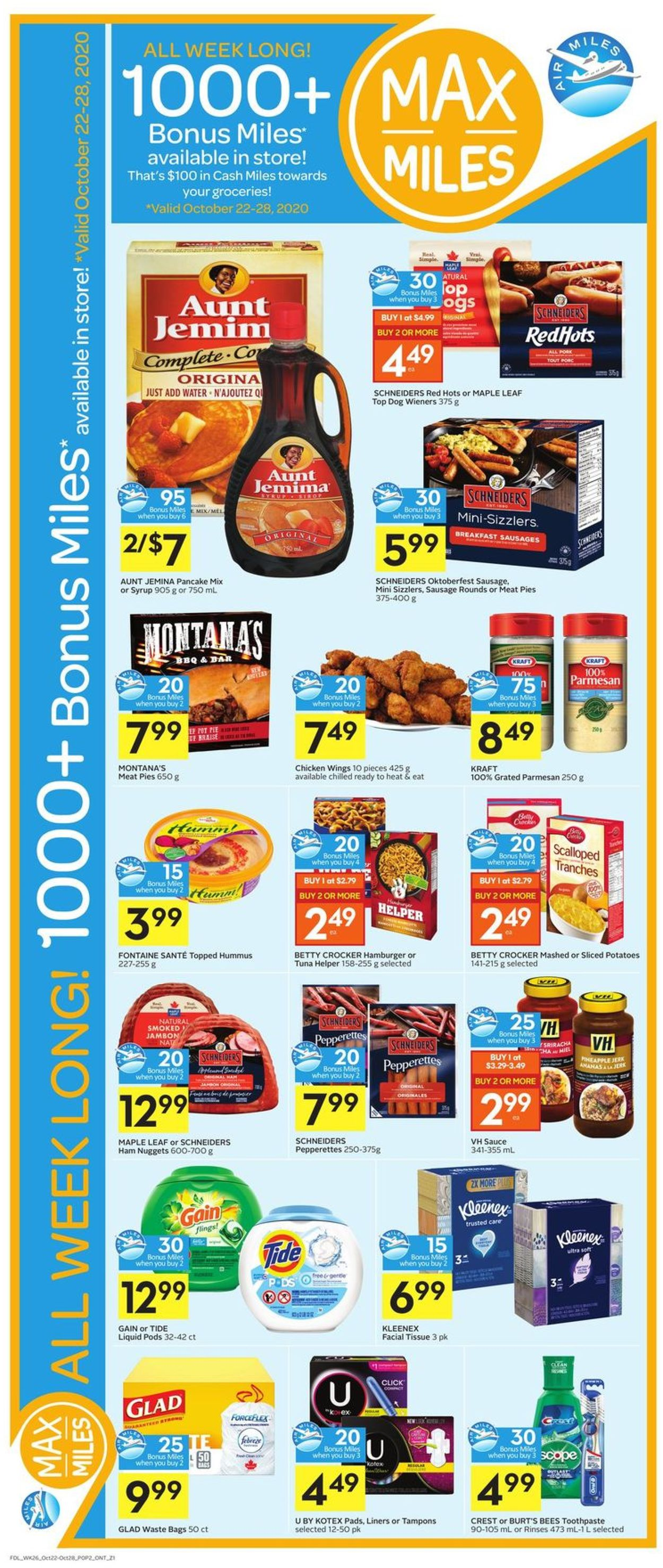 Foodland Flyer - 10/22-10/28/2020 (Page 3)