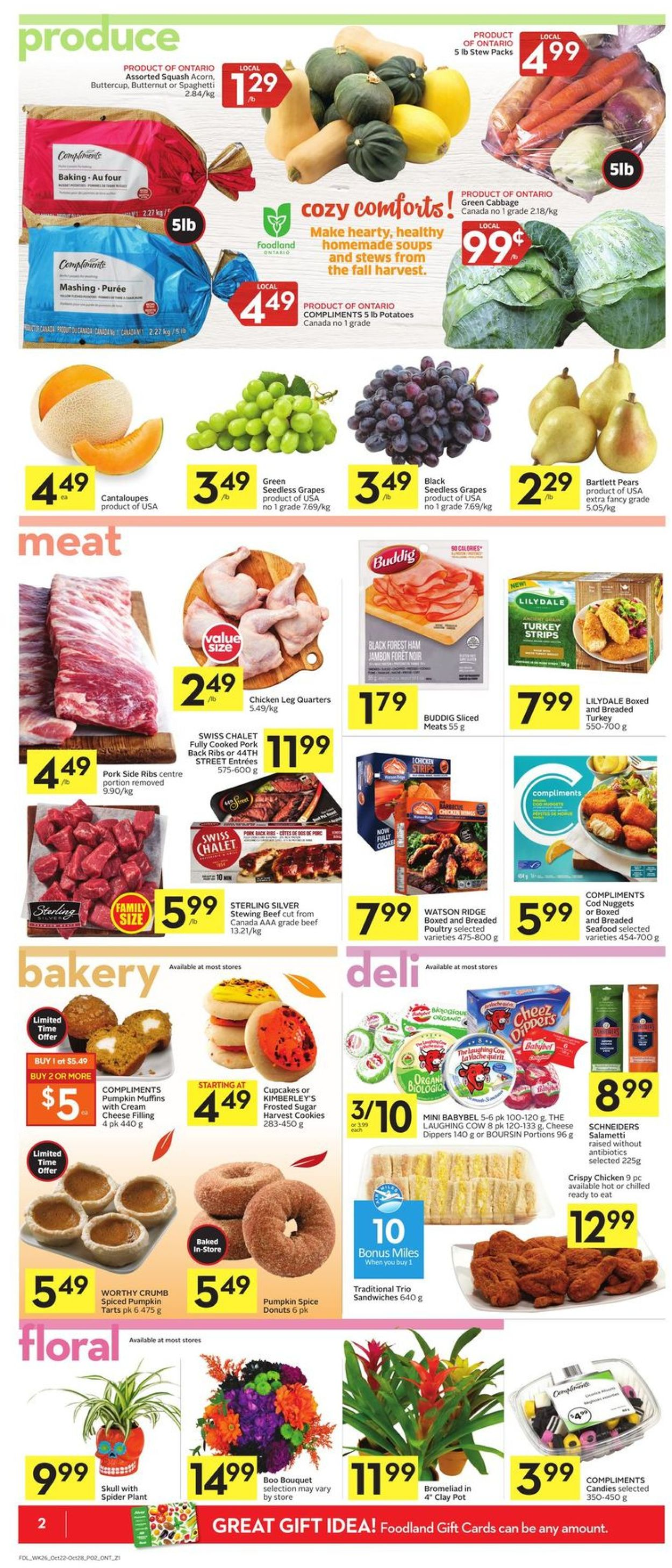 Foodland Flyer - 10/22-10/28/2020 (Page 4)