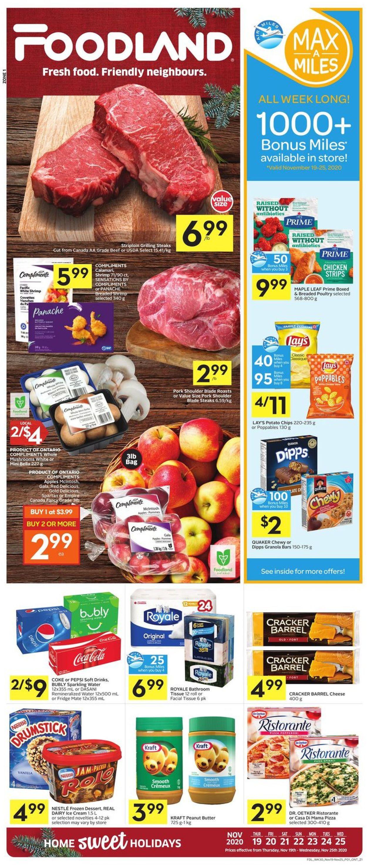 Foodland Flyer - 11/19-11/25/2020