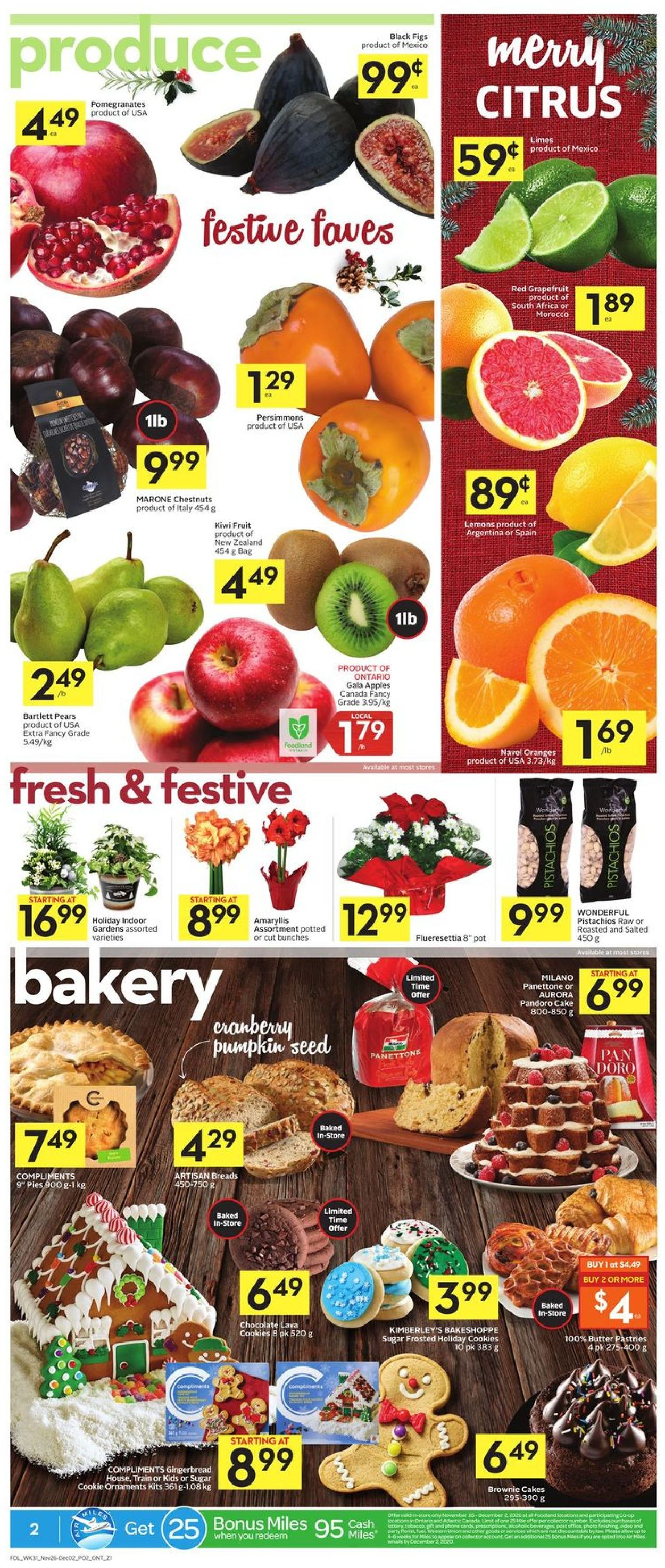 Foodland - Black Friday 2020 Flyer - 11/26-12/02/2020 (Page 2)