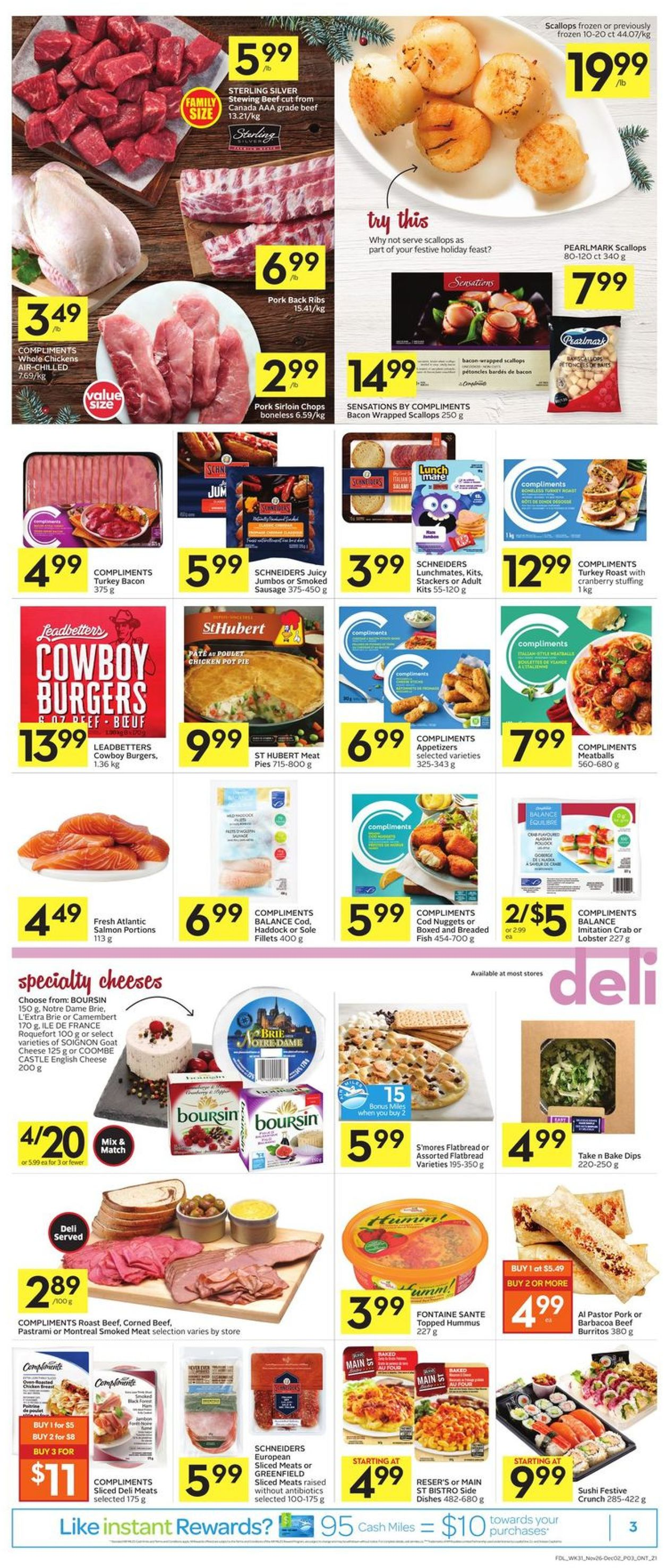 Foodland - Black Friday 2020 Flyer - 11/26-12/02/2020 (Page 3)