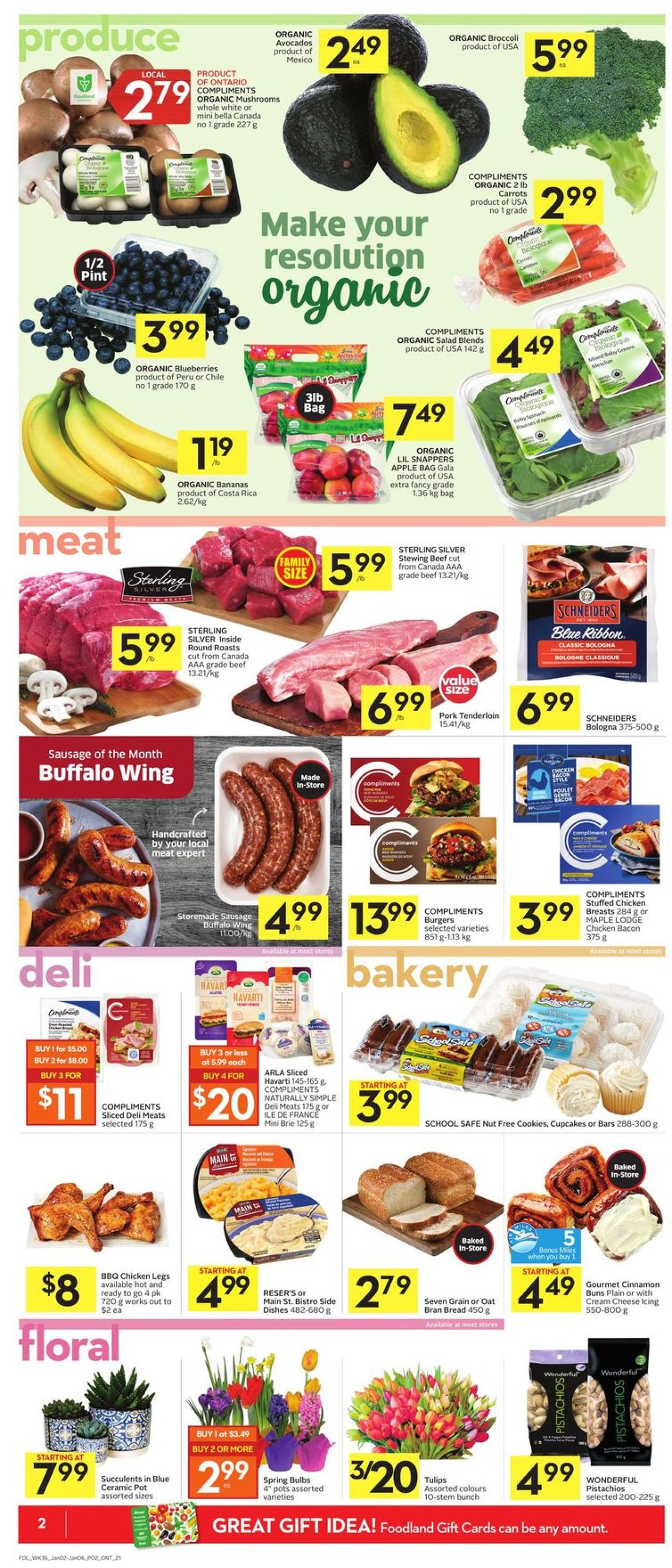 Foodland Flyer - 01/02-01/06/2021 (Page 2)