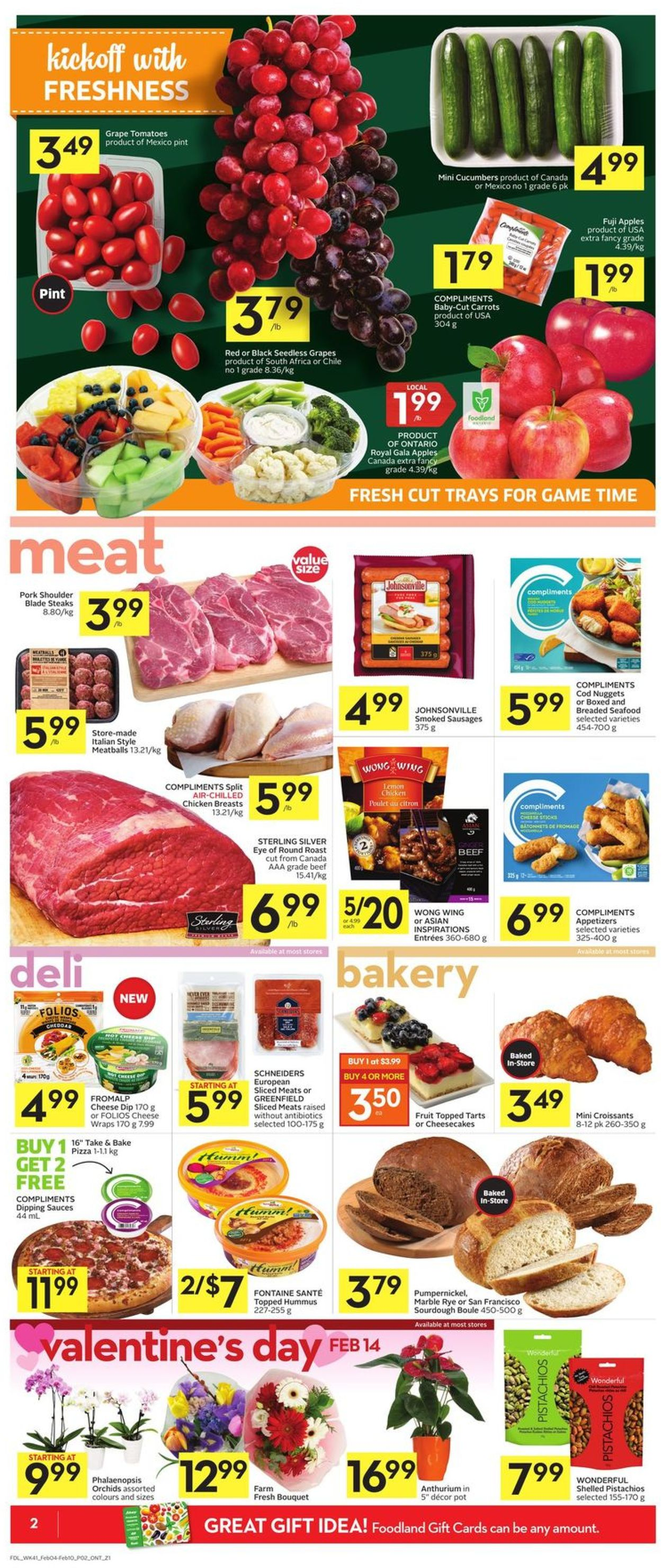 Foodland Flyer - 02/04-02/10/2021 (Page 4)