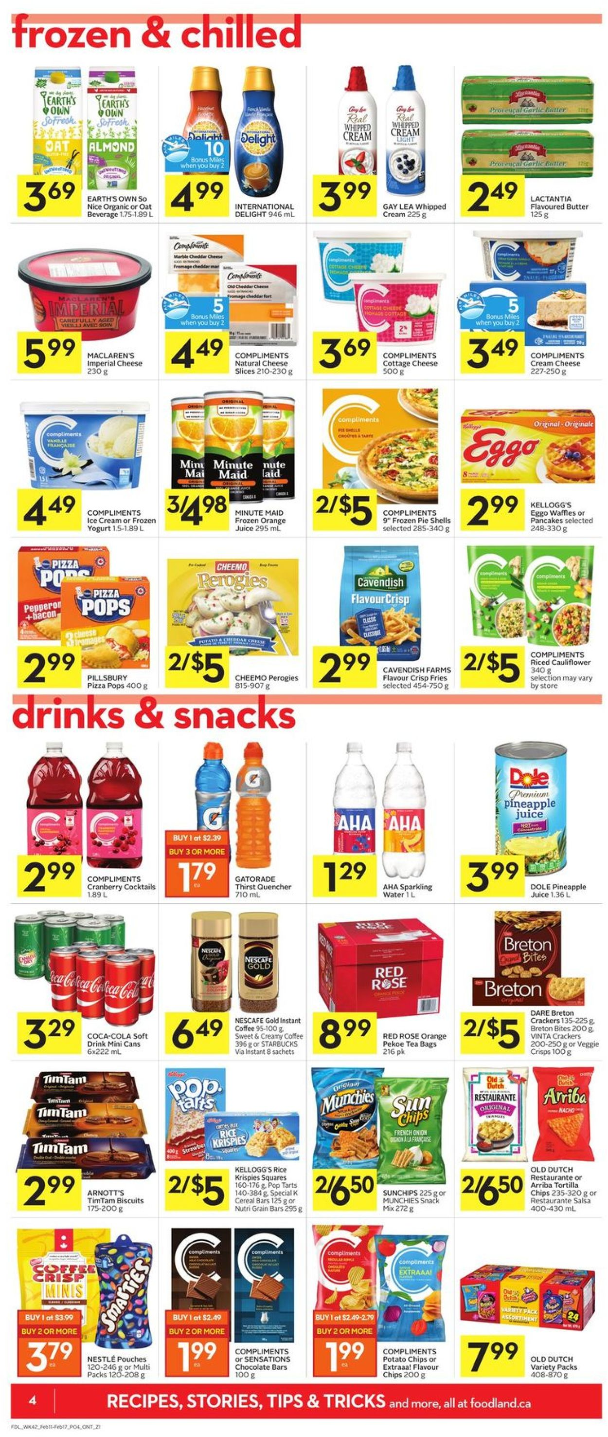 Foodland Flyer - 02/11-02/17/2021 (Page 4)
