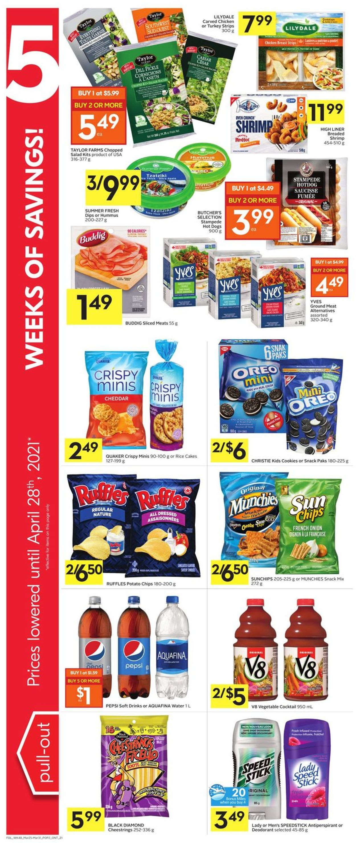 Foodland Flyer - 03/25-03/31/2021 (Page 3)