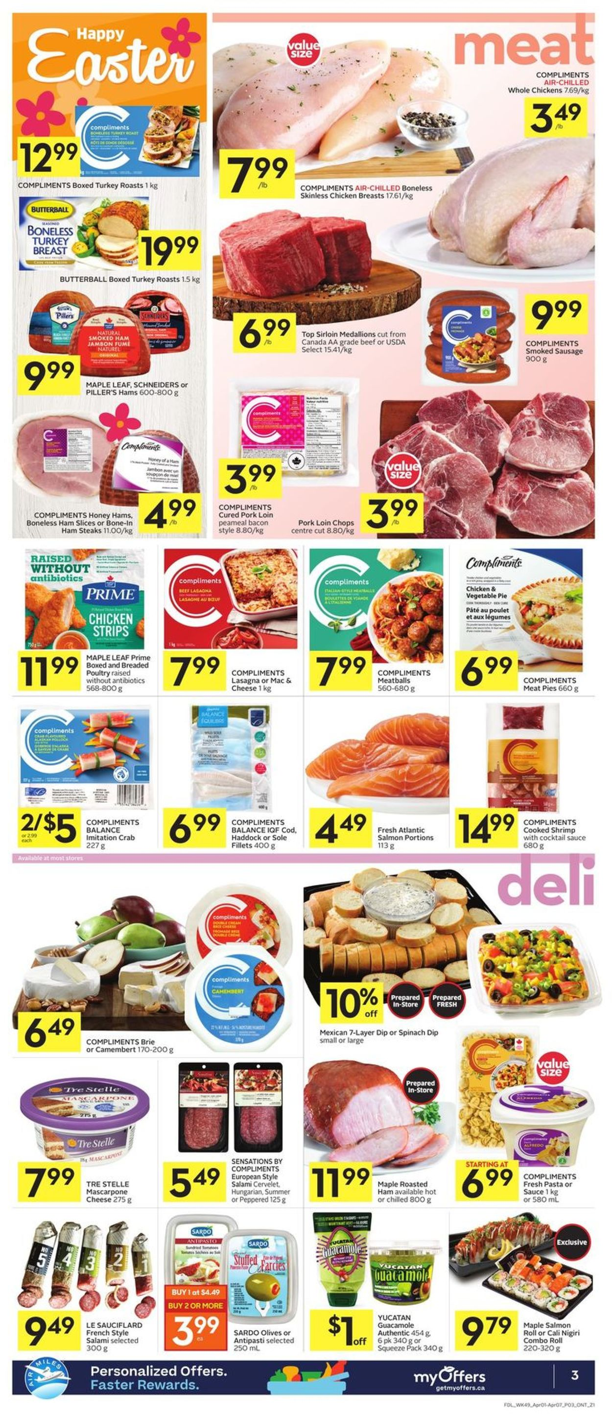 Foodland Flyer - 04/01-04/07/2021 (Page 3)