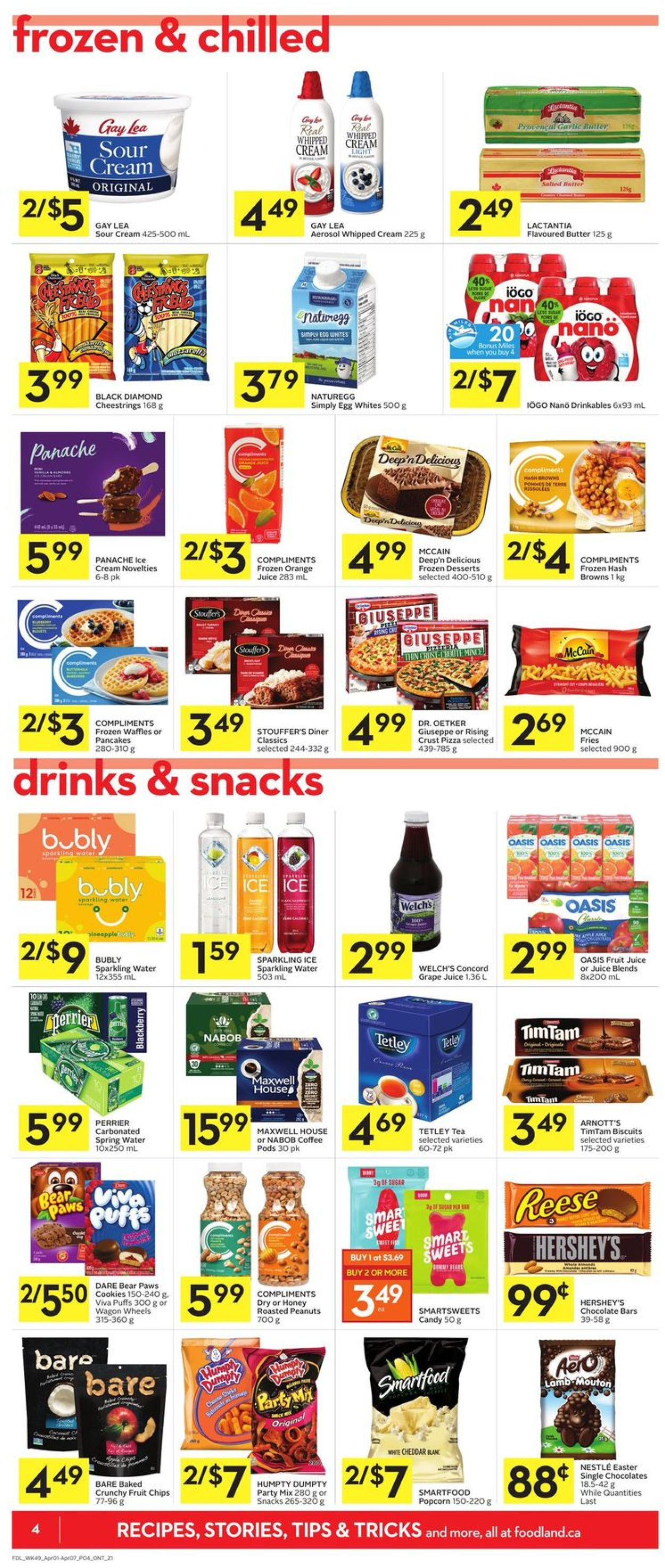 Foodland Flyer - 04/01-04/07/2021 (Page 4)