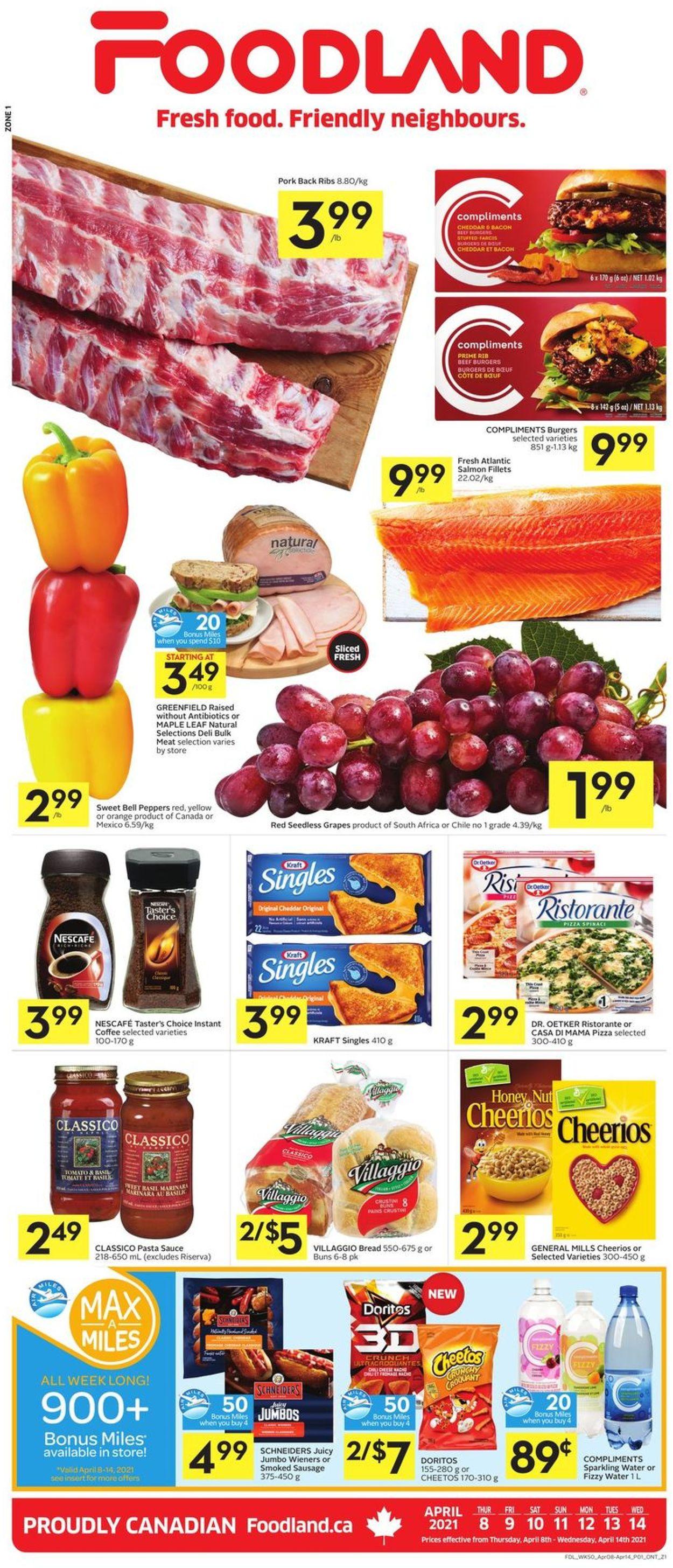 Foodland Flyer - 04/08-04/14/2021