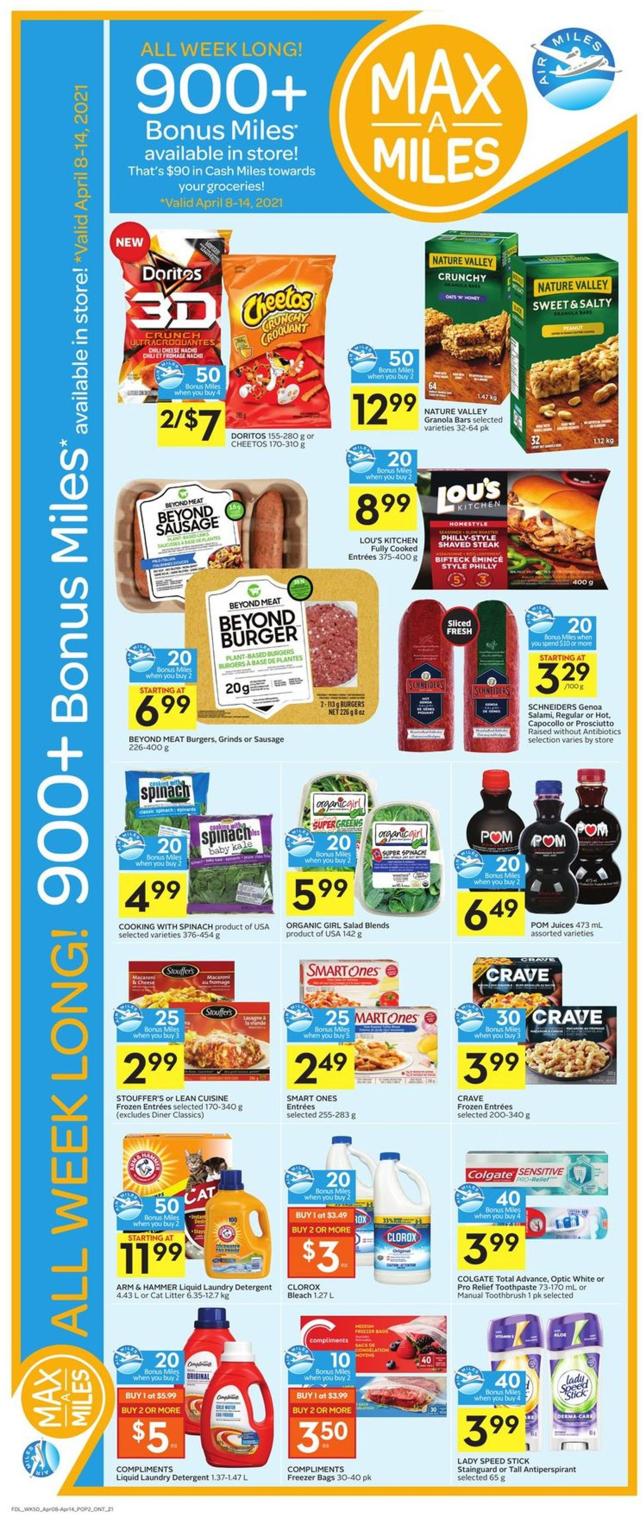 Foodland Flyer - 04/08-04/14/2021 (Page 3)