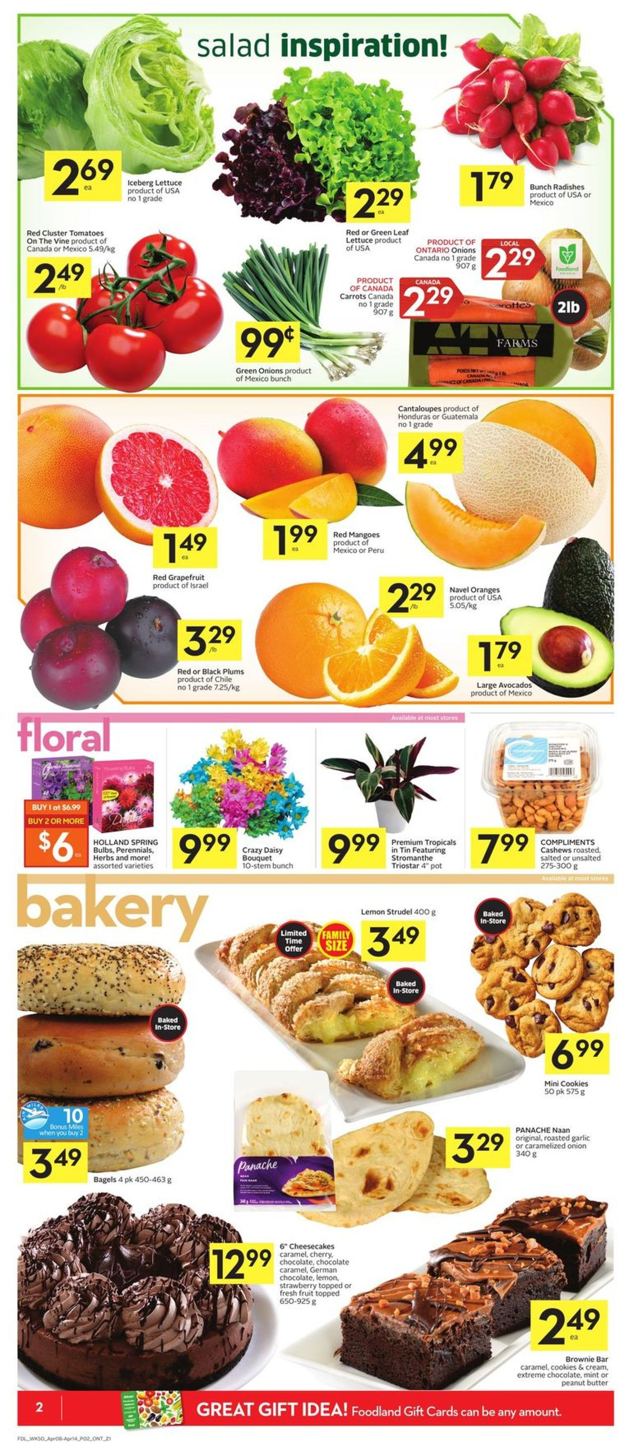 Foodland Flyer - 04/08-04/14/2021 (Page 4)