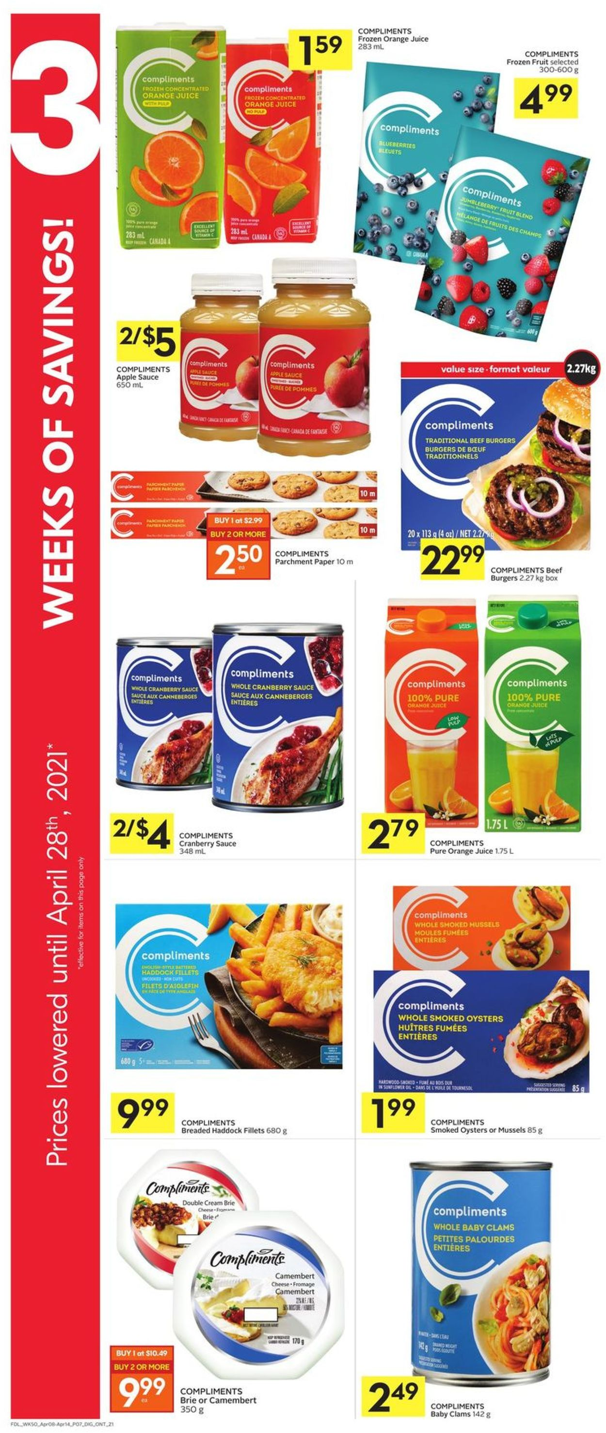Foodland Flyer - 04/08-04/14/2021 (Page 11)