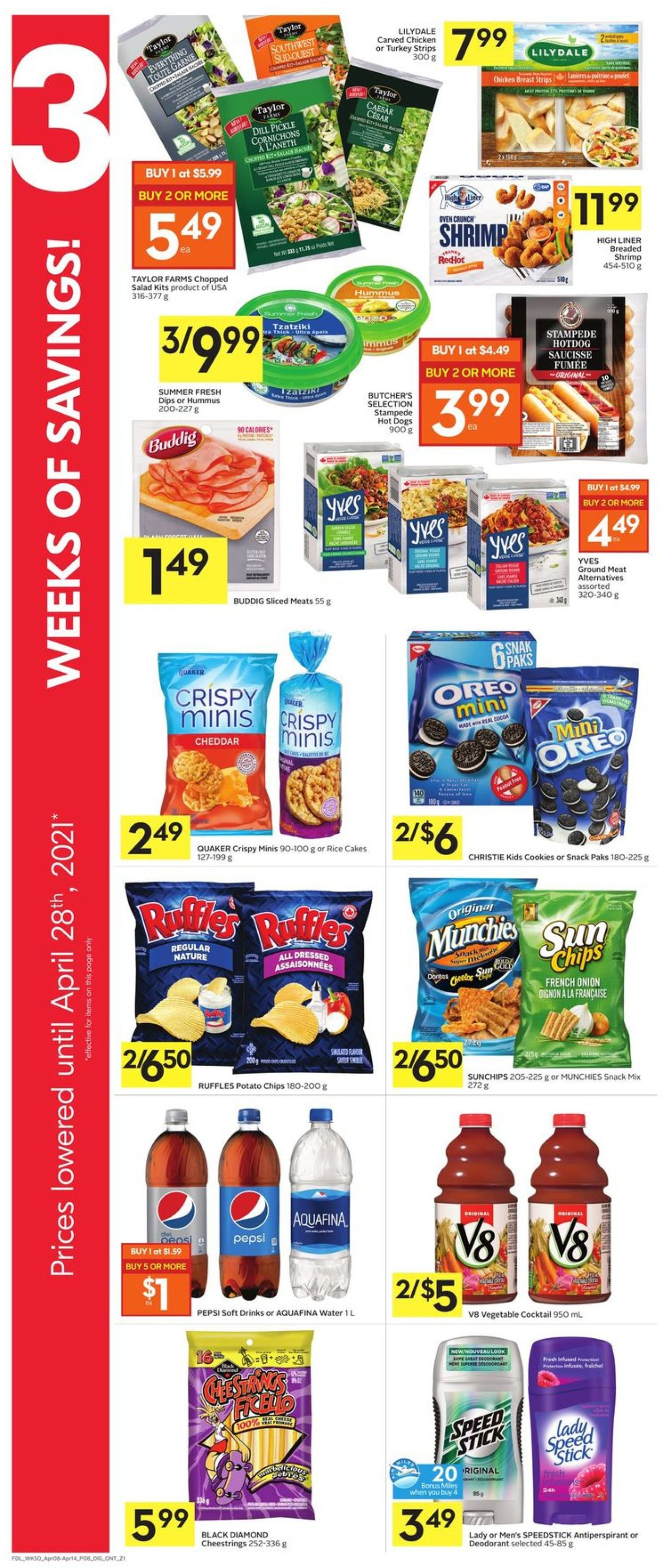 Foodland Flyer - 04/08-04/14/2021 (Page 13)