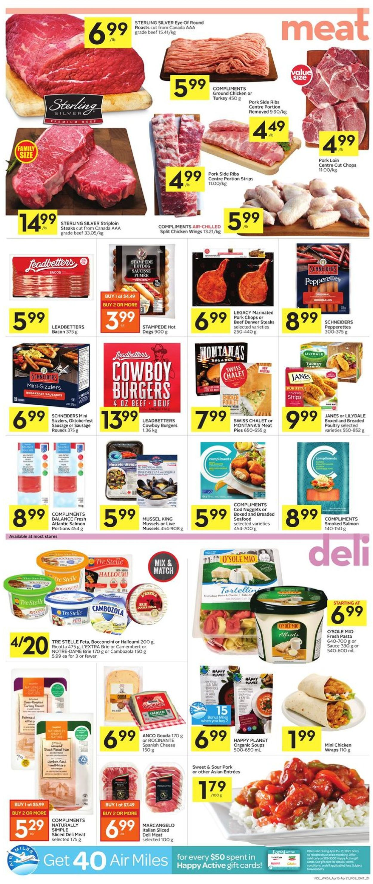 Foodland Flyer - 04/15-04/21/2021 (Page 3)