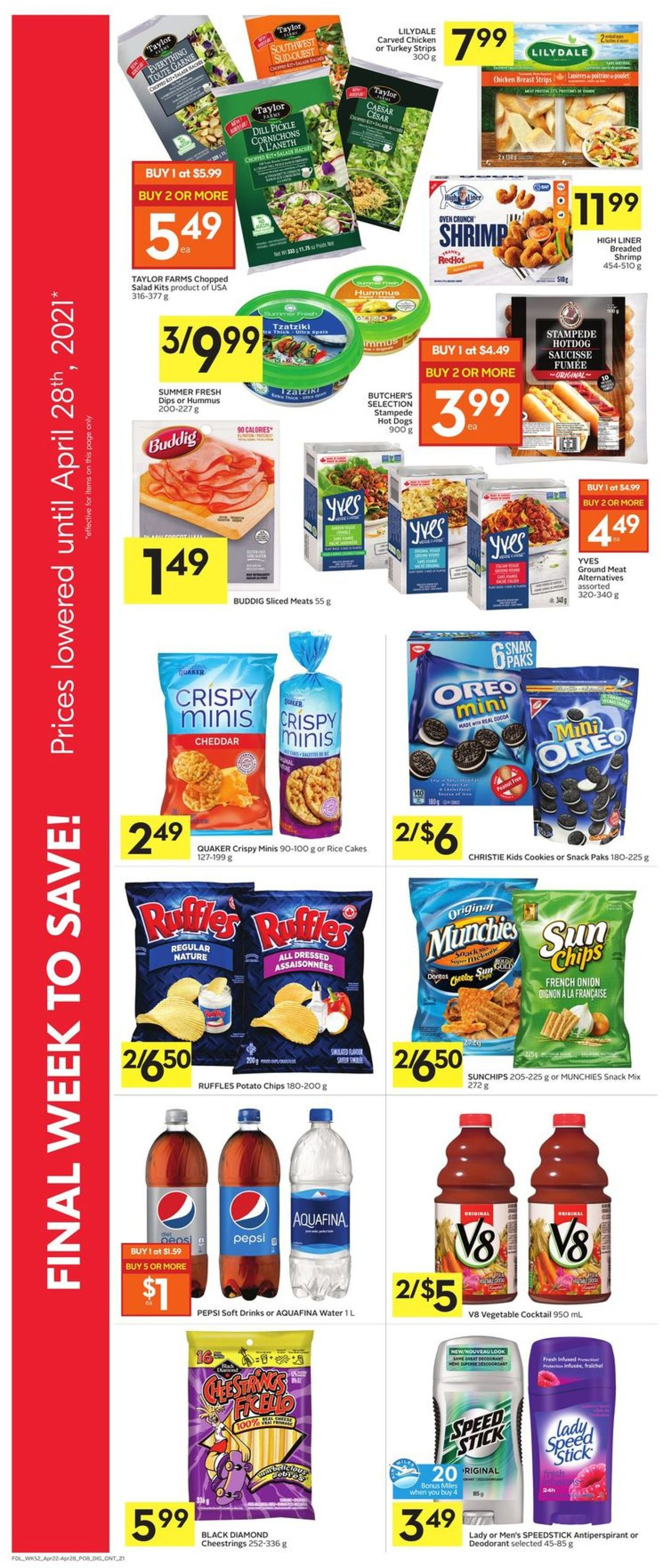 Foodland Flyer - 04/22-04/28/2021 (Page 10)