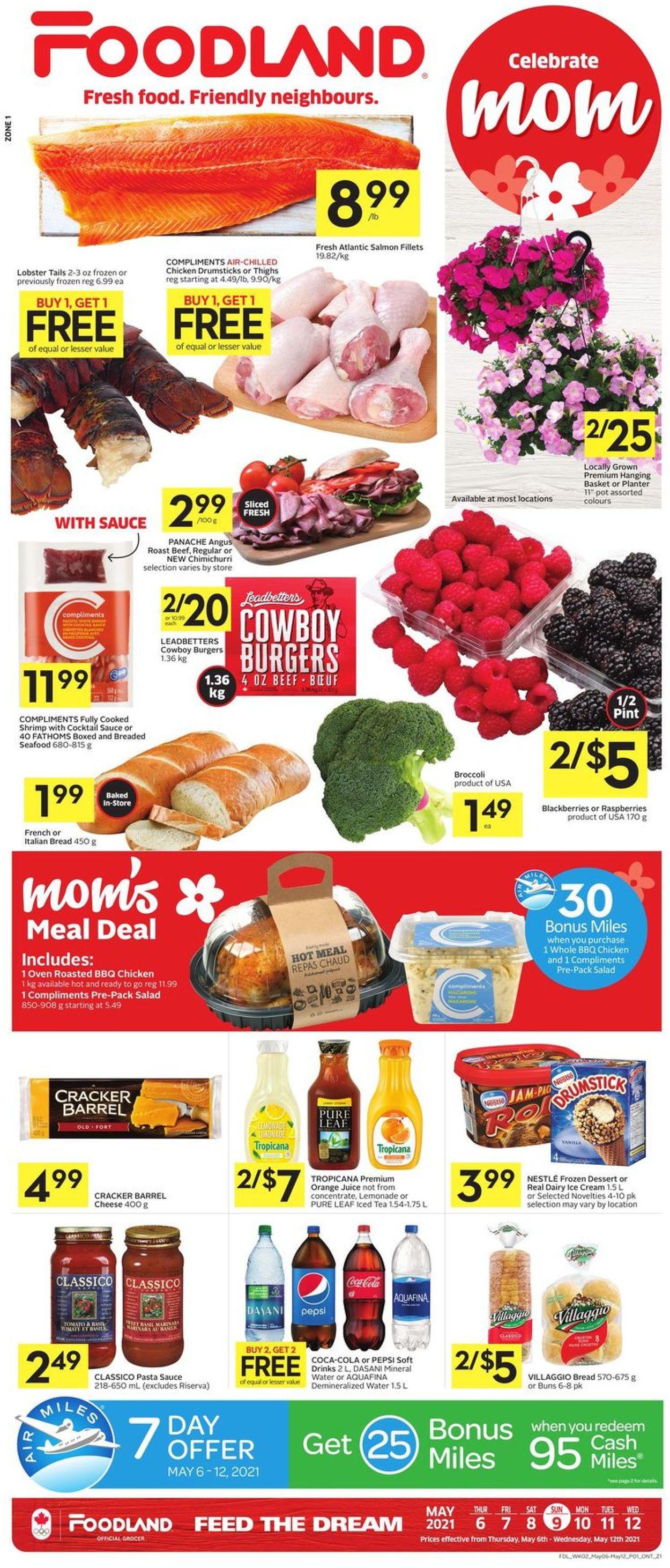 Foodland Flyer - 05/06-05/12/2021