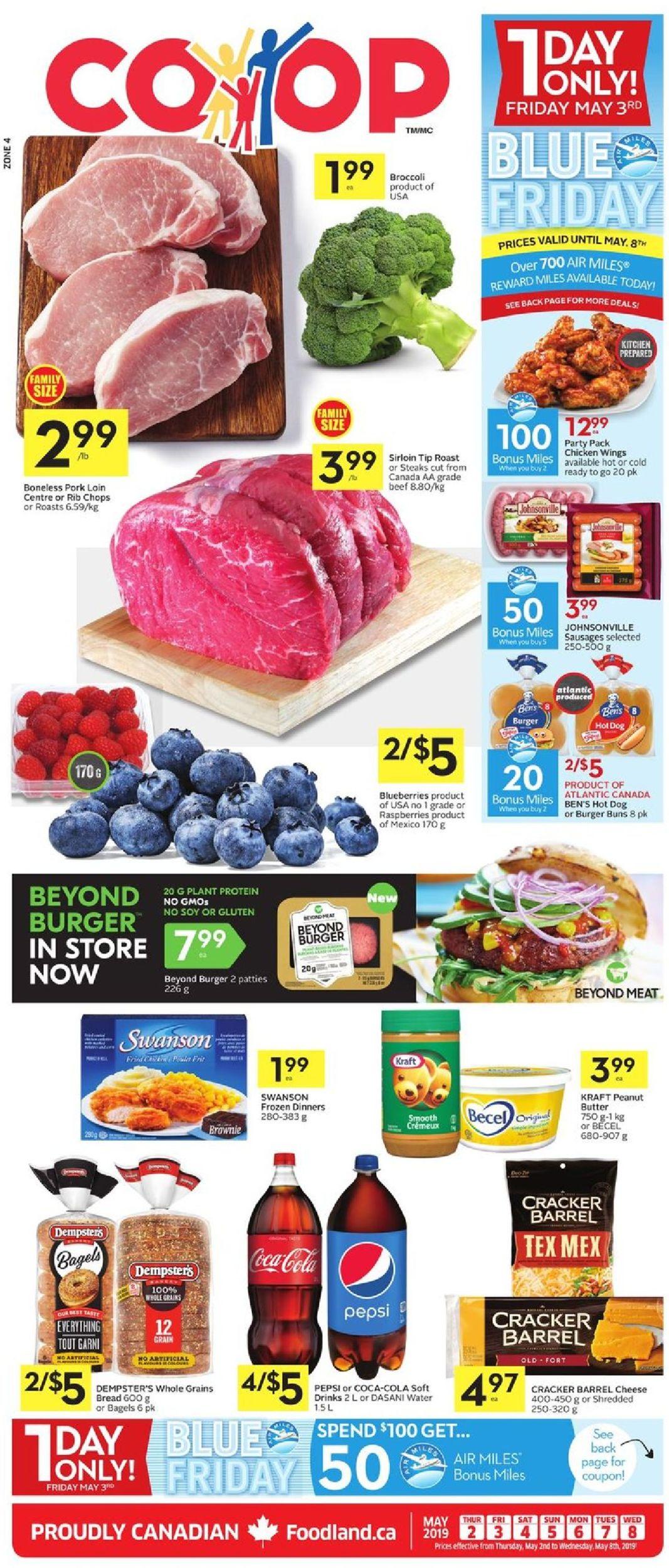 Foodland Flyer - 05/02-05/08/2019